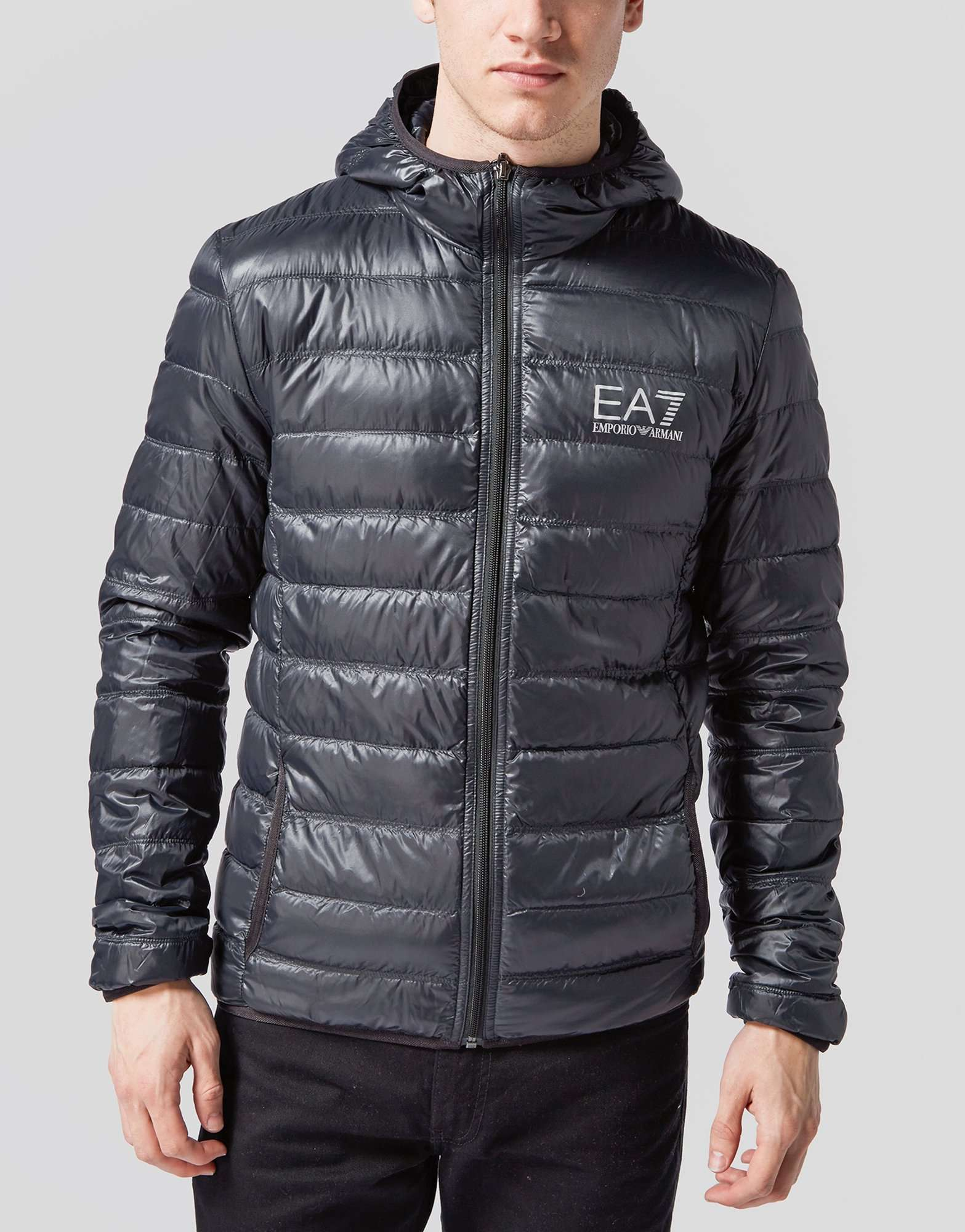 Emporio Armani EA7 Bubble Hooded Jacket | scotts Menswear