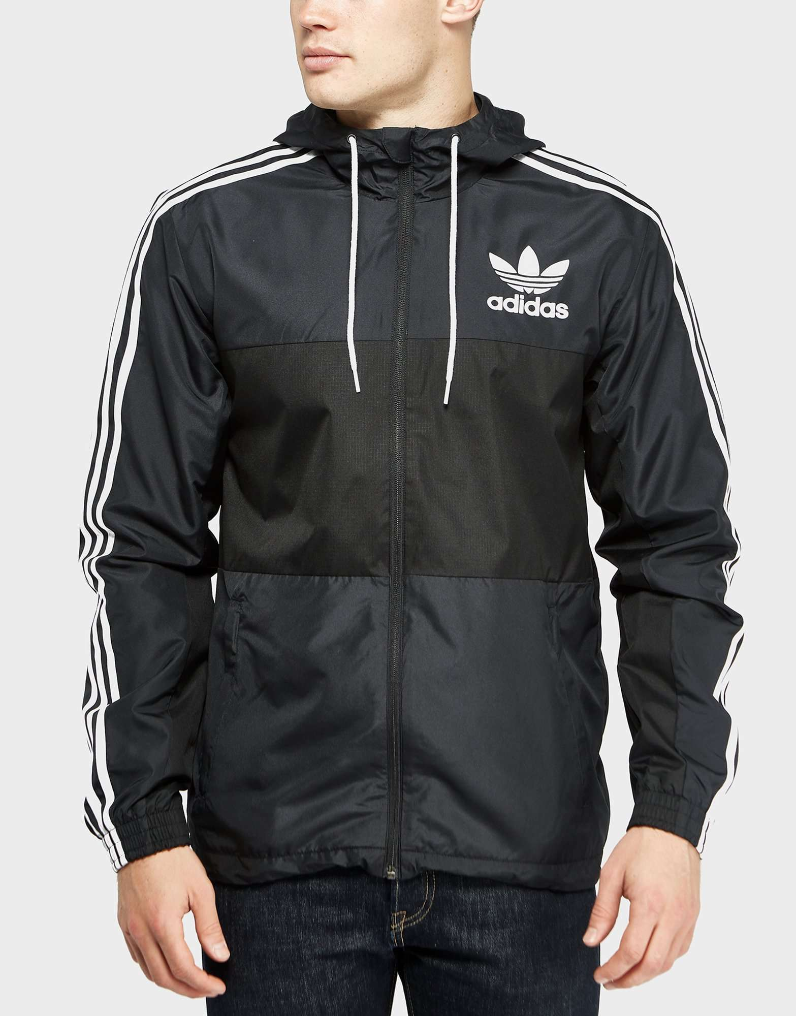 adidas originals california windbreaker lightweight jacket. Black Bedroom Furniture Sets. Home Design Ideas