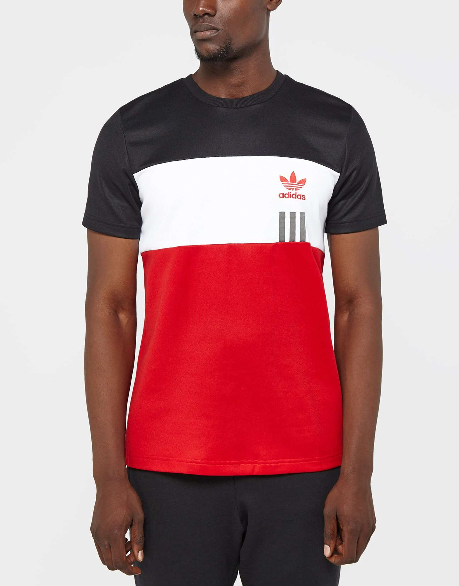 cafe3f03 White And Red Adidas T Shirt - DREAMWORKS