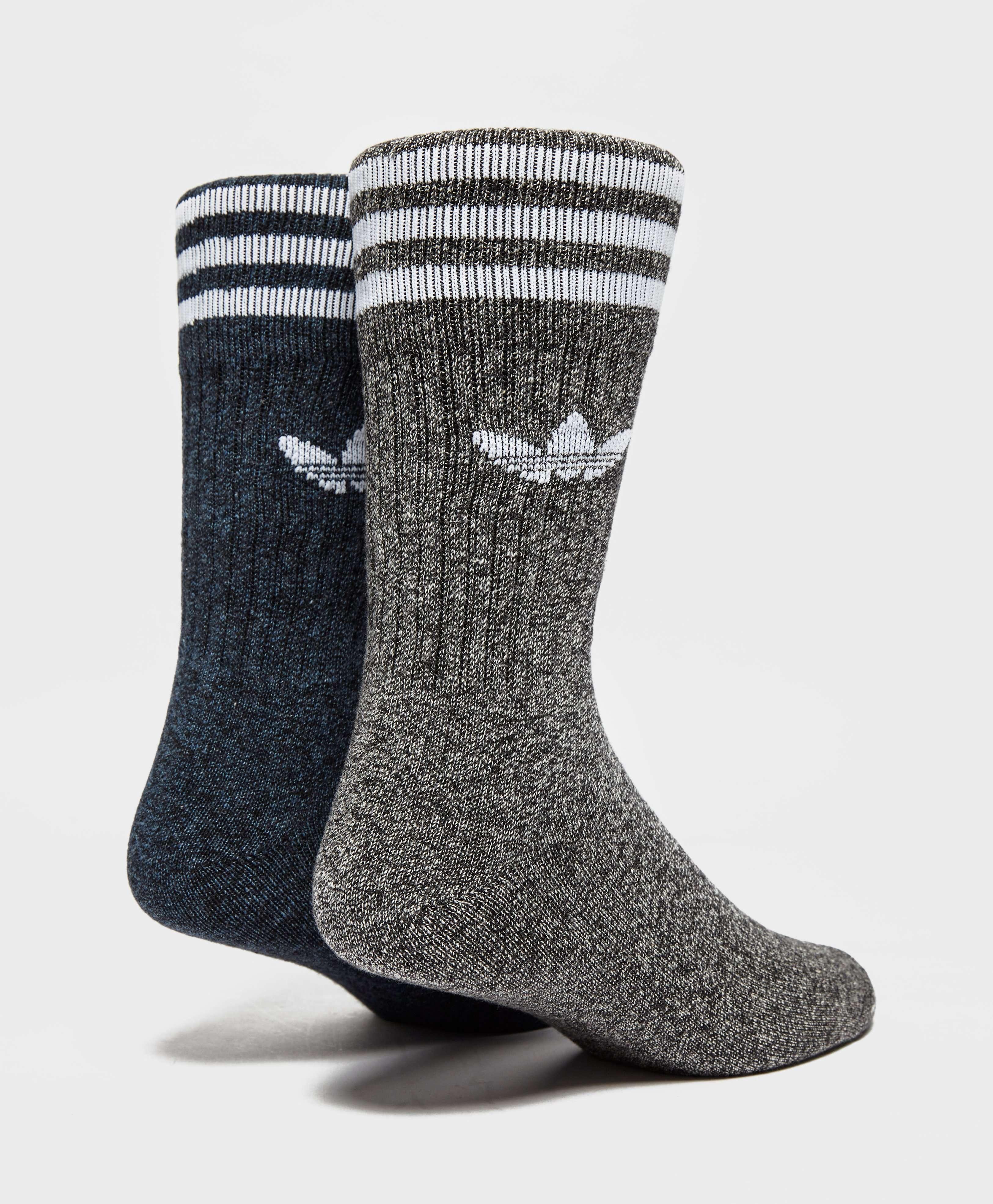 Adidas originali 2 le calze melange grey scotts maschili