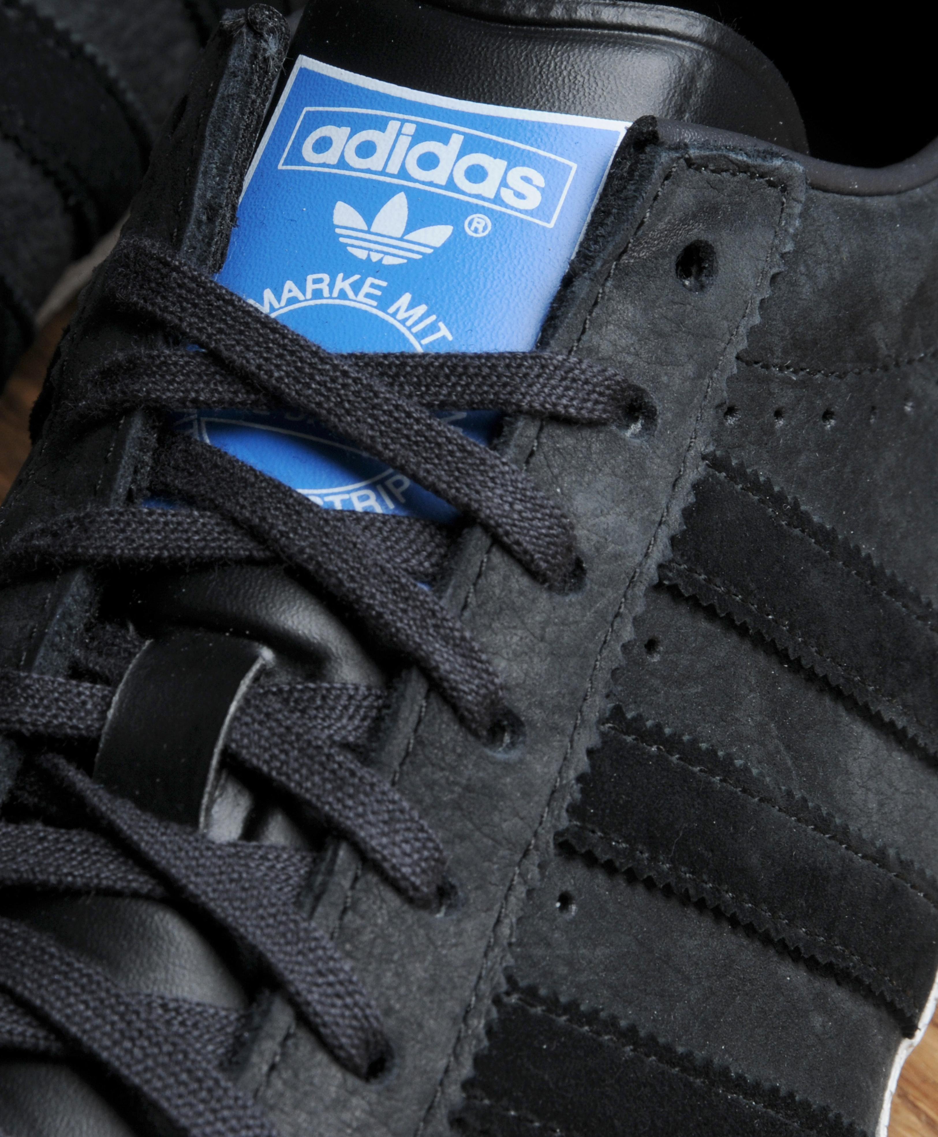 Adidas Originals Gazelle Og Leather All Black