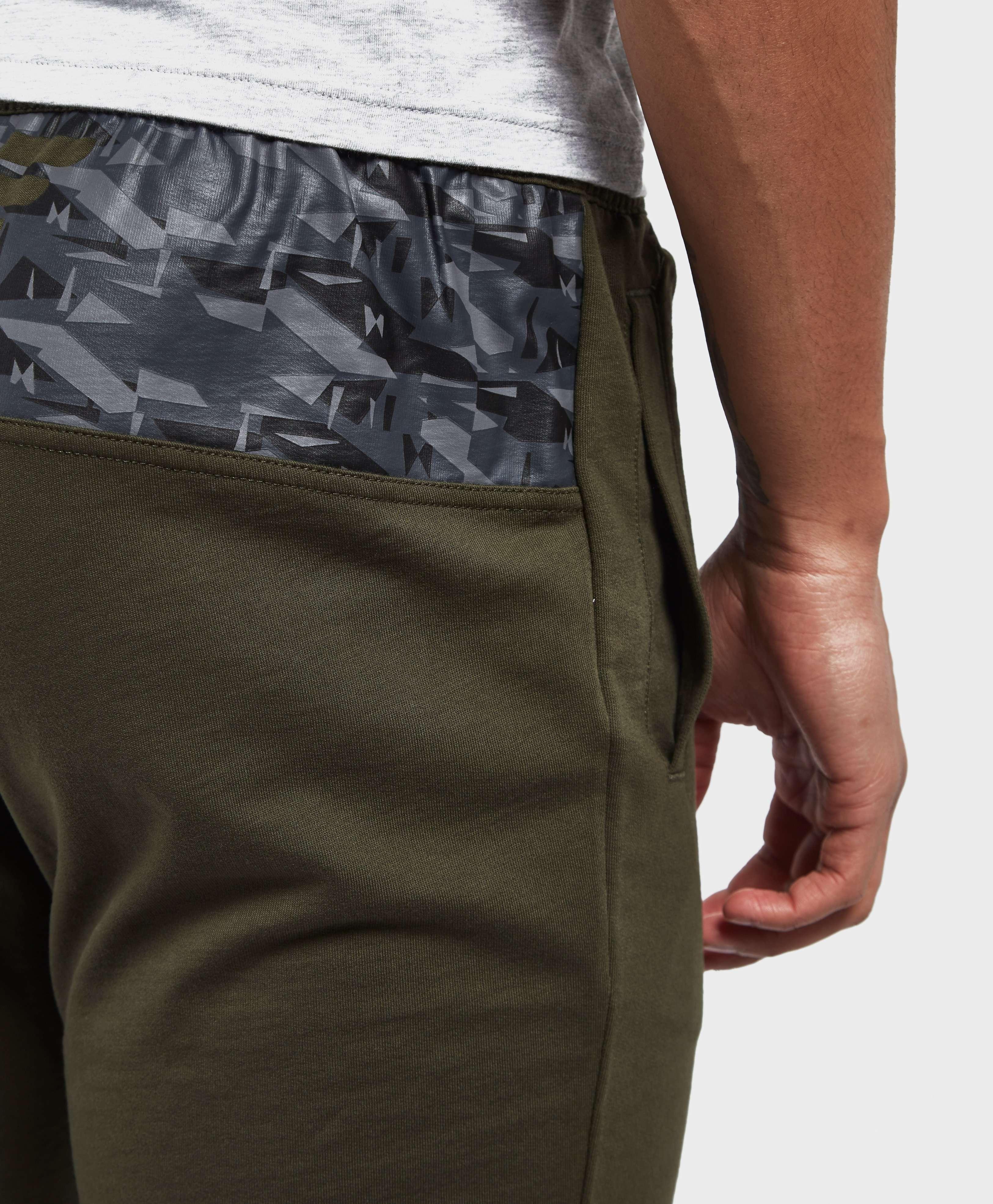 Emporio Armani EA7 Eagle Back Cuffed Track Pants