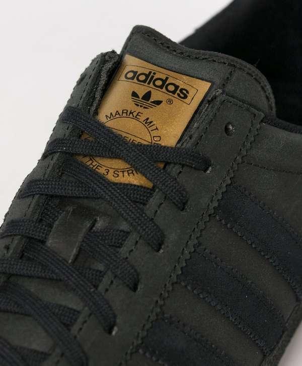 adidas gazelle og mens black leather