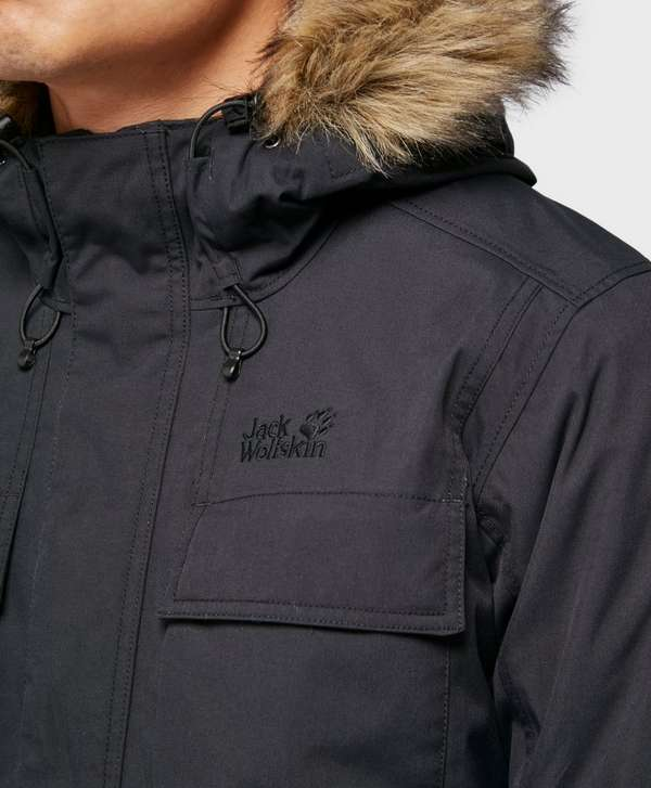 jack wolfskin point barrow parka jacket scotts menswear. Black Bedroom Furniture Sets. Home Design Ideas