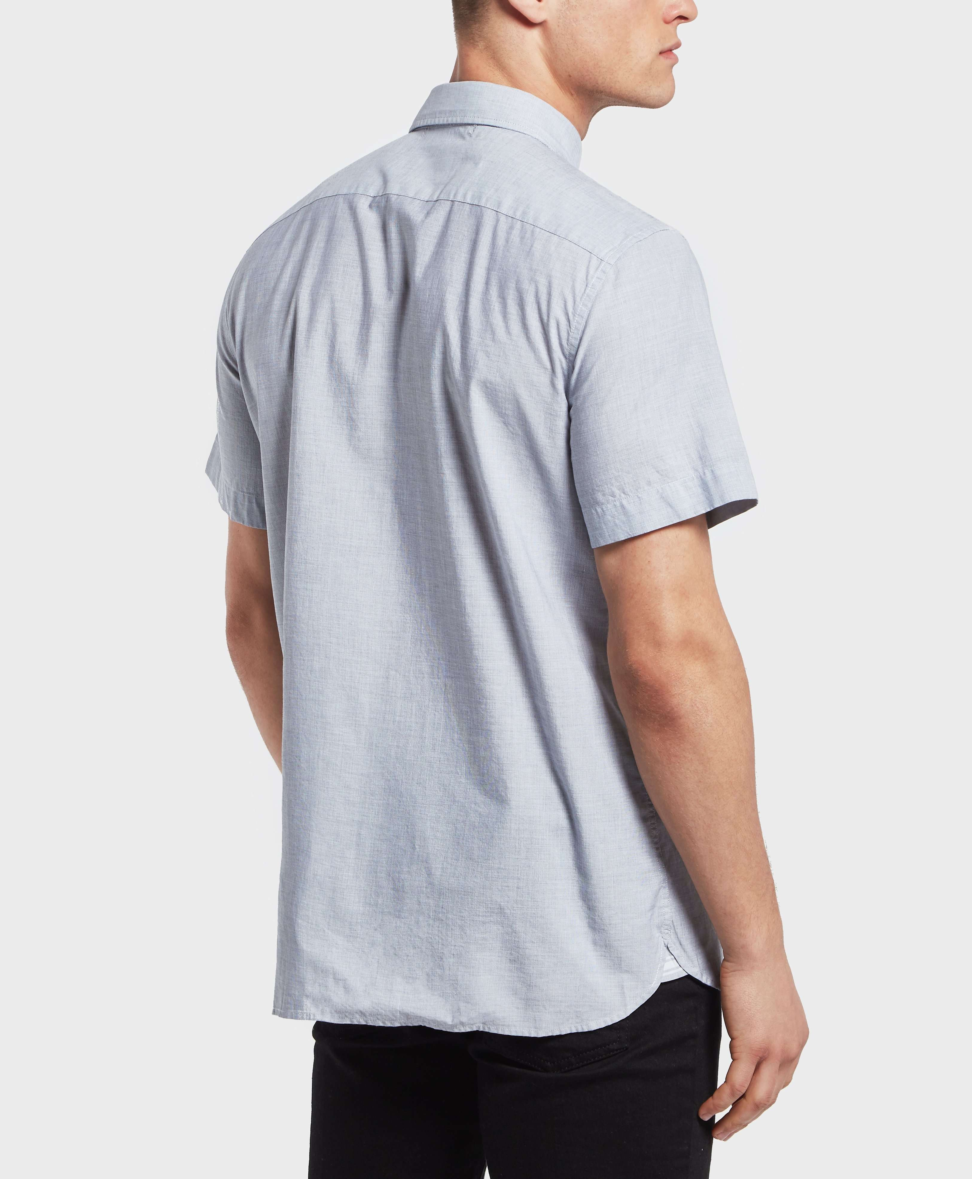Lacoste End On End Short Sleeve Shirt