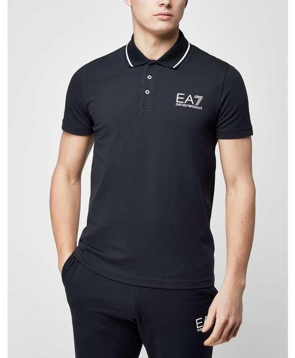 EA7 Pique Polo Shirt