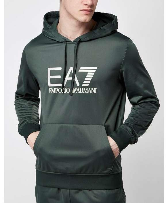 EA7 Overhead Reflective Hoody