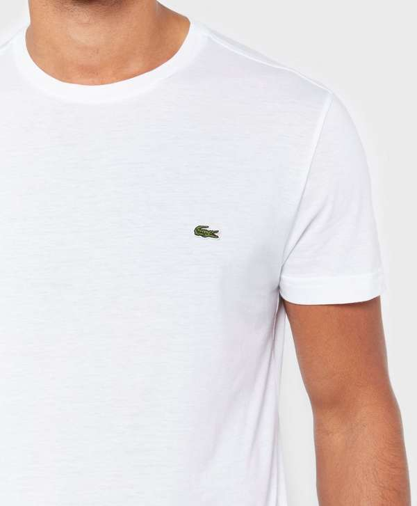lacoste pima cotton short sleeve t shirt scotts menswear. Black Bedroom Furniture Sets. Home Design Ideas