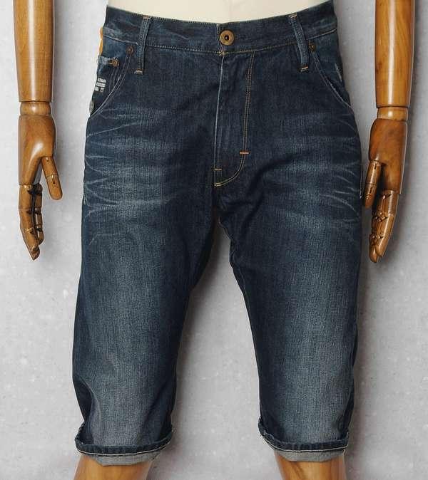 g star arc 3d loose tapered denim shorts scotts menswear. Black Bedroom Furniture Sets. Home Design Ideas
