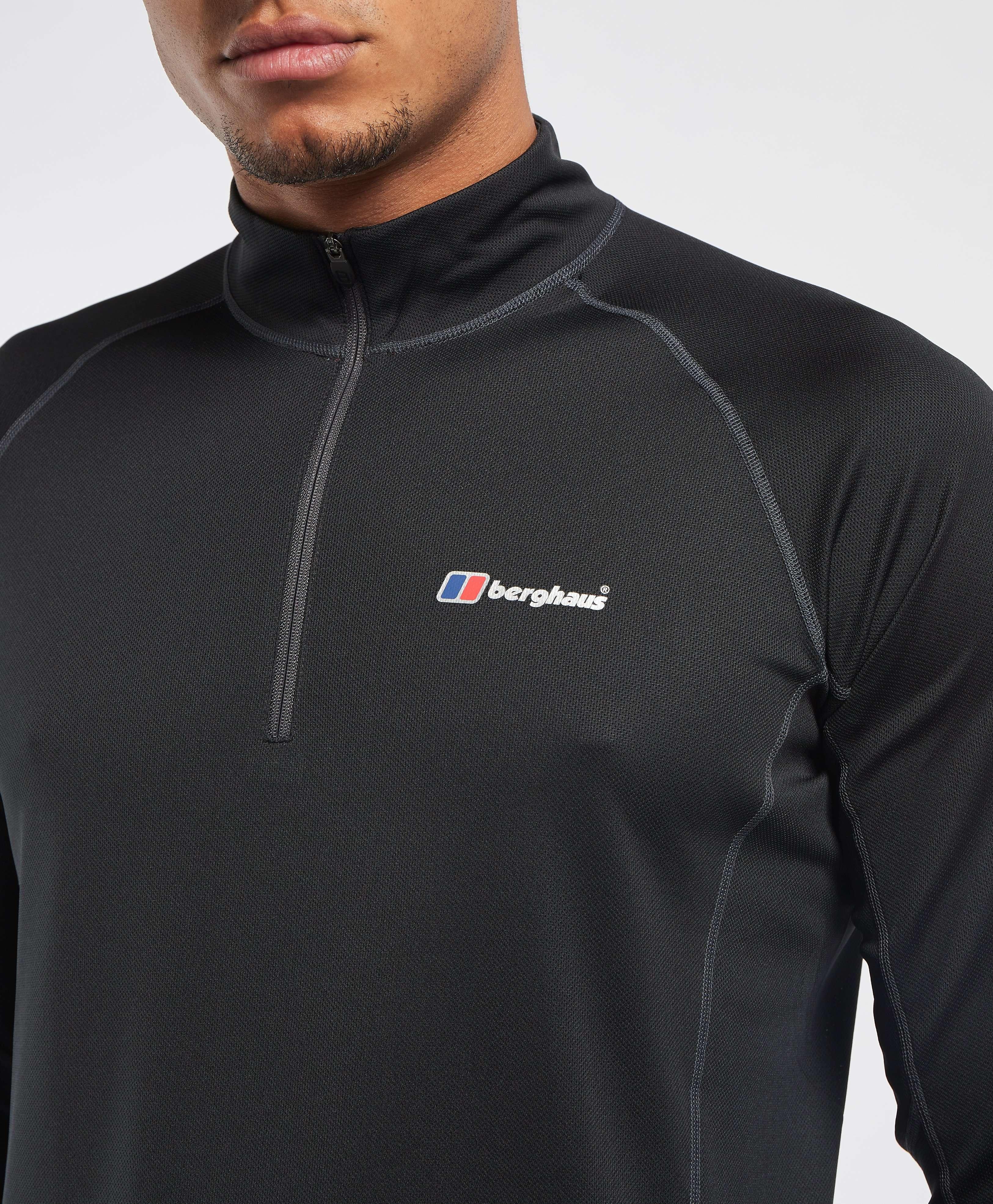 Berghaus Tech 1/4 Zip Long Sleeve T-Shirt