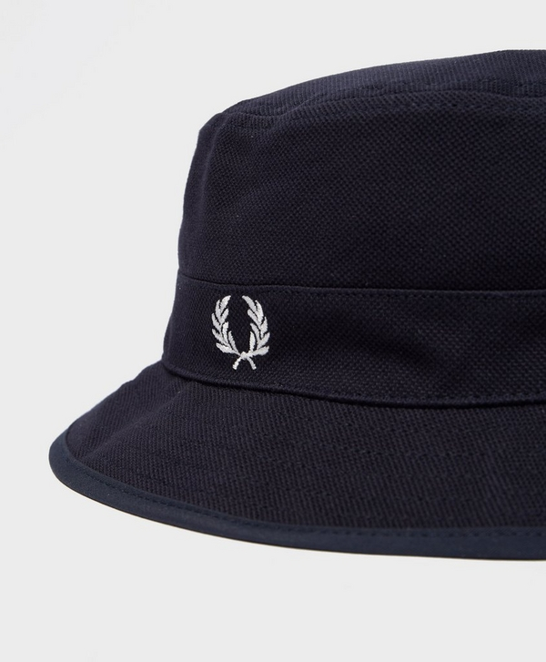 0db86098c84 Fred Perry Pique Reversible Bucket Hat