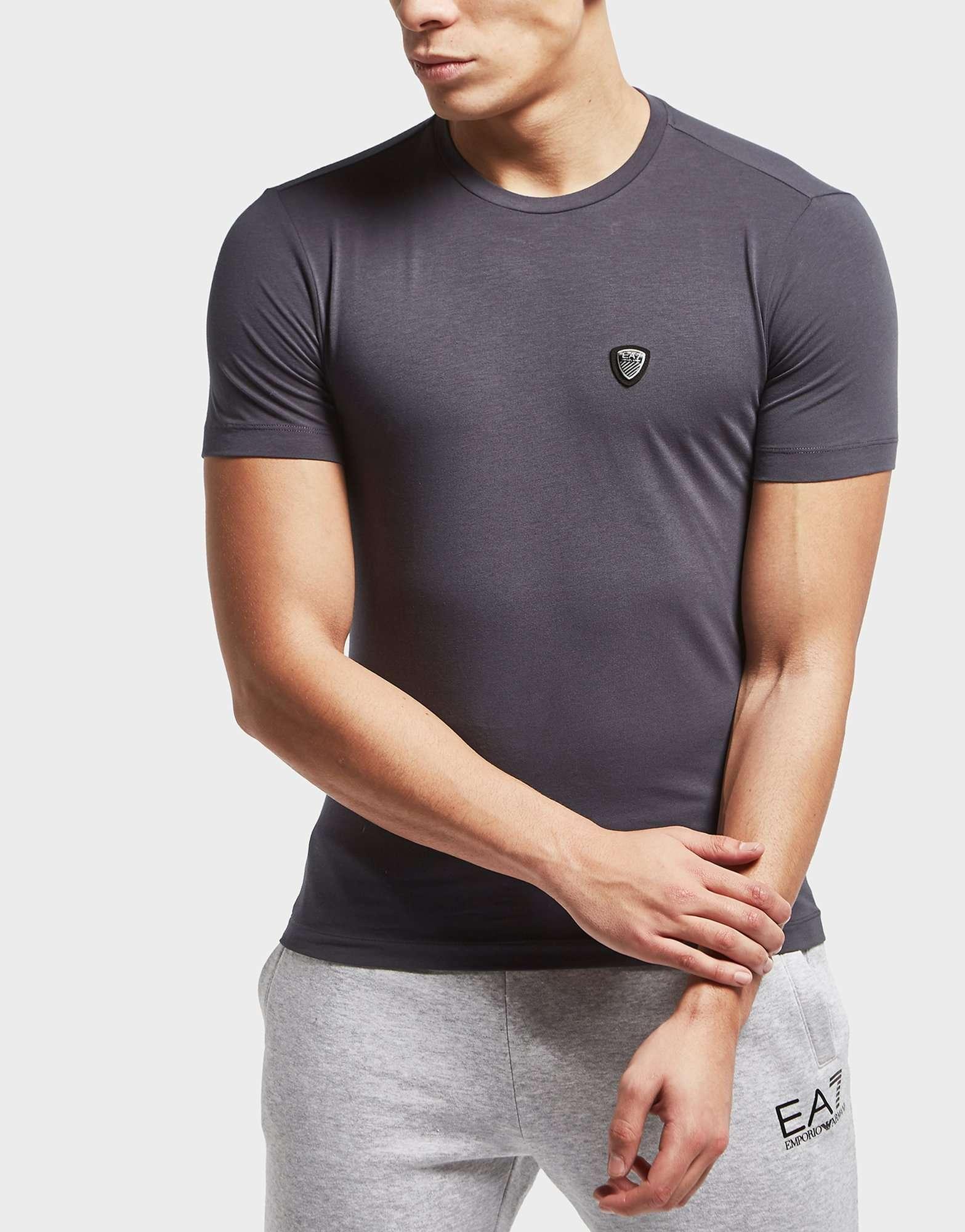 Emporio Armani EA7 Shield Logo Short Sleeve T-Shirt