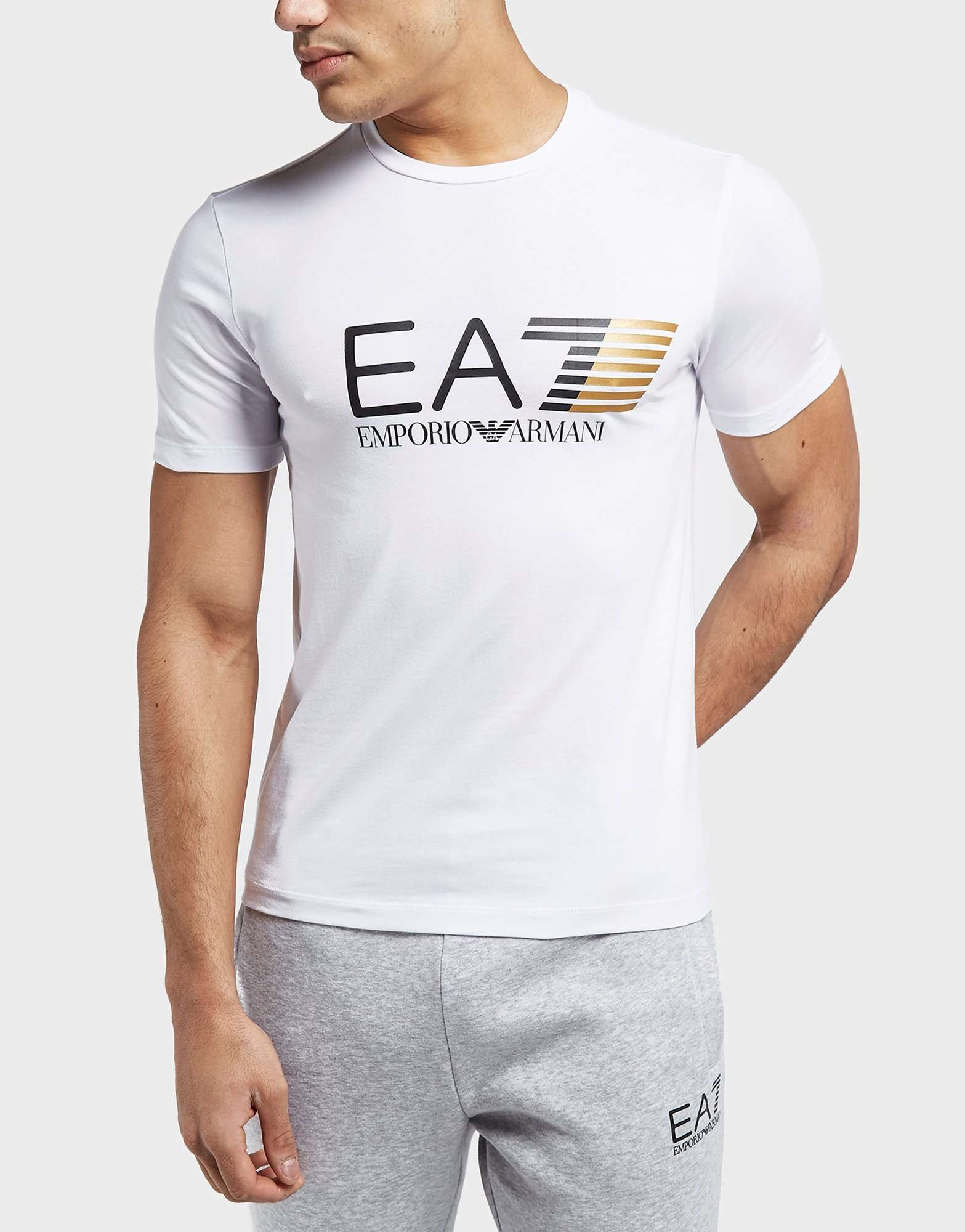 Emporio Armani EA7 Vis Stretch Short Sleeve T-Shirt