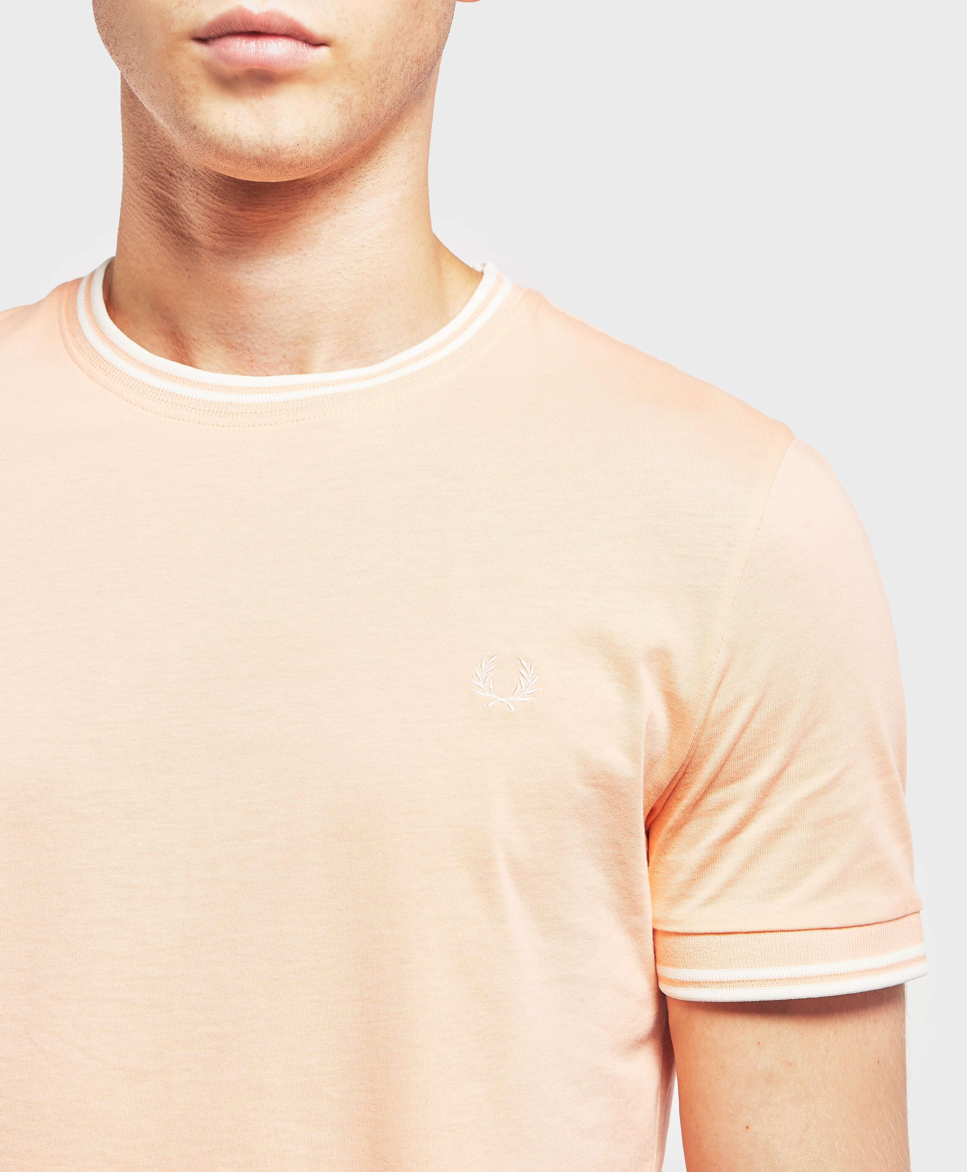 Fred Perry Tipped Short Sleeve T-Shirt - Exclusive
