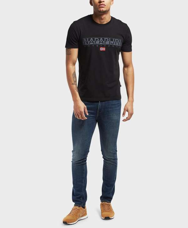 Napapijri Sapriol Core Short Sleeve T-Shirt   scotts Menswear 8681c5cf2f2