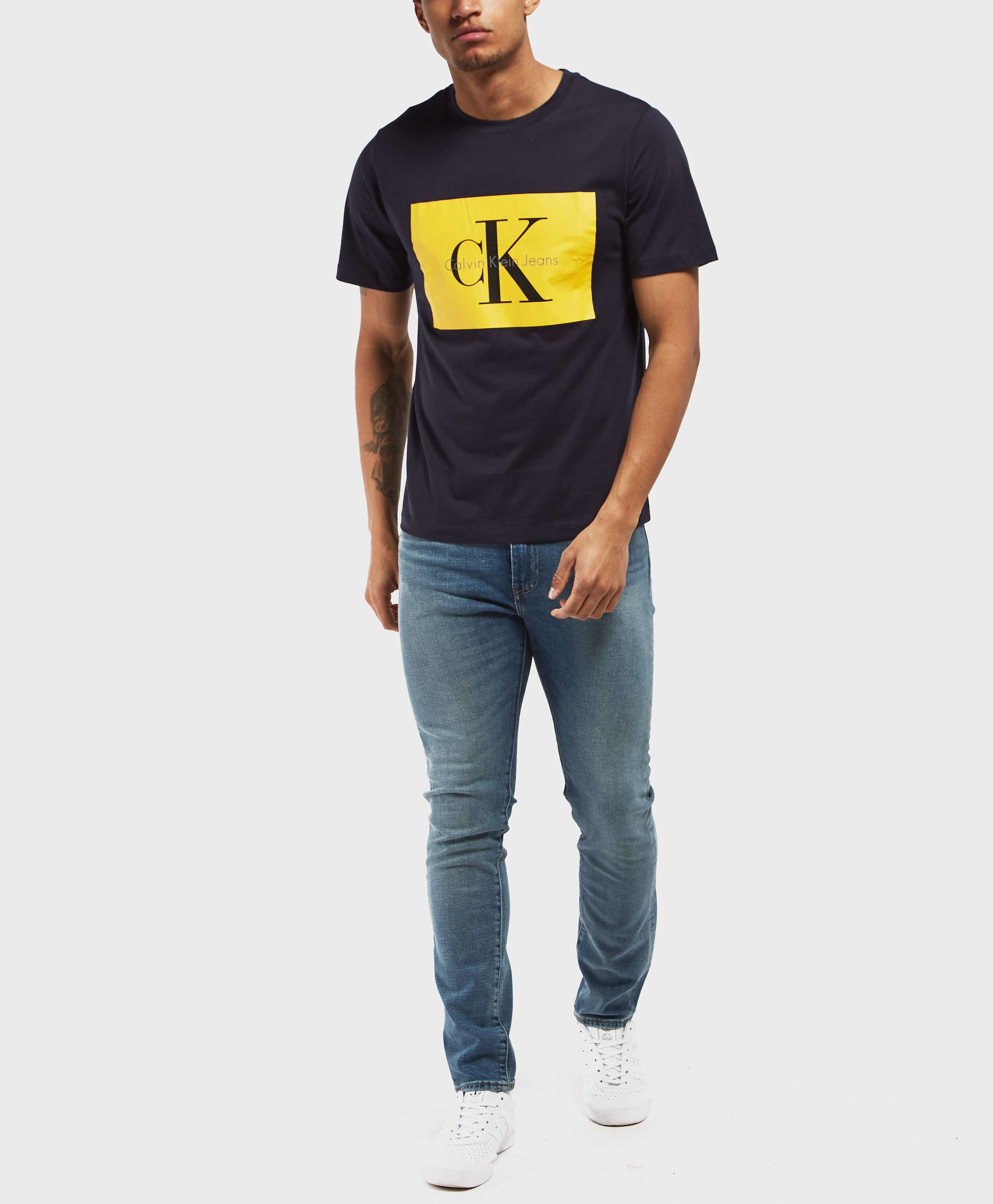 Calvin Klein Box Icon Short Sleeve T-Shirt
