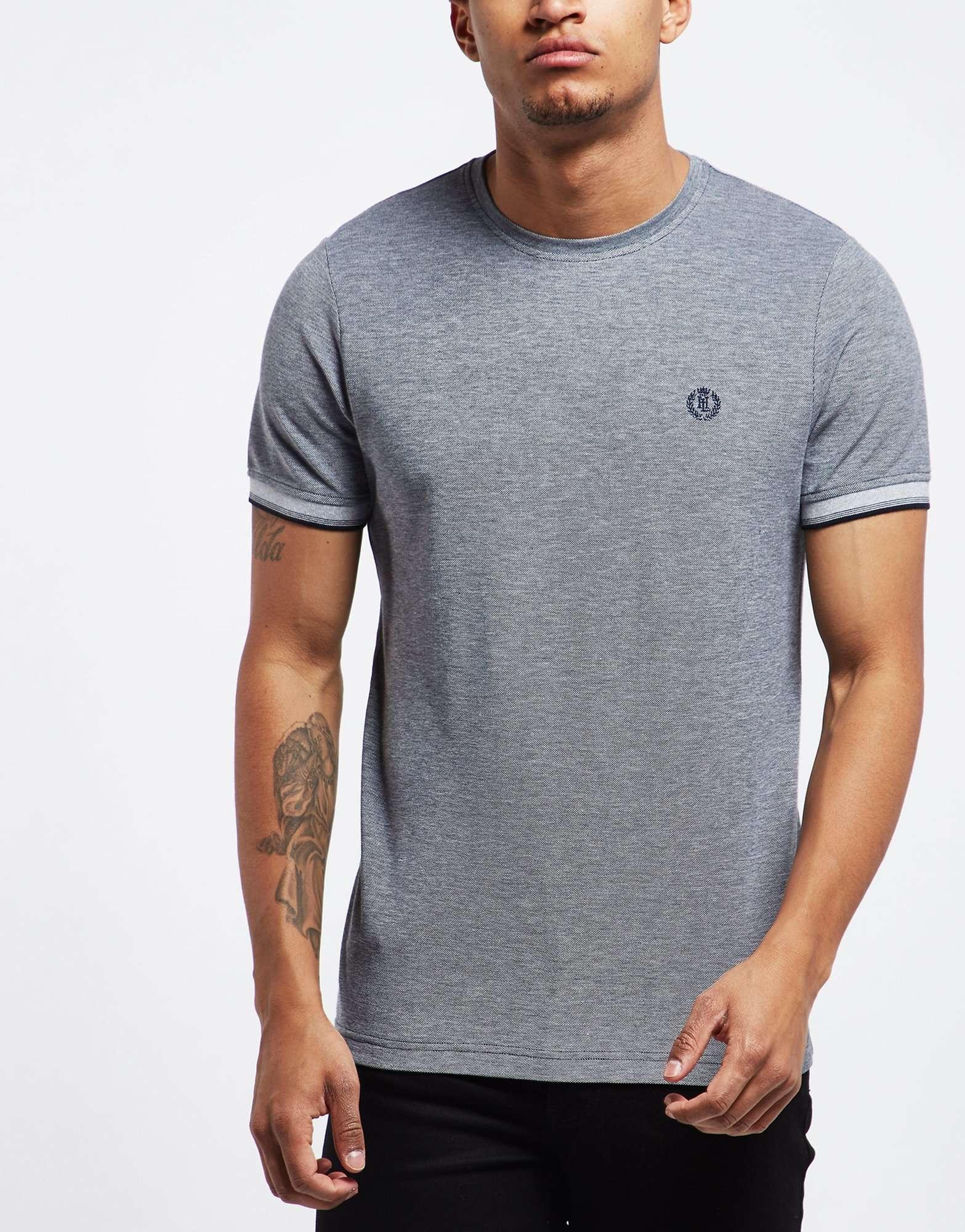 Henri Lloyd Lackan Oxford Pique Short Sleeve T-Shirt