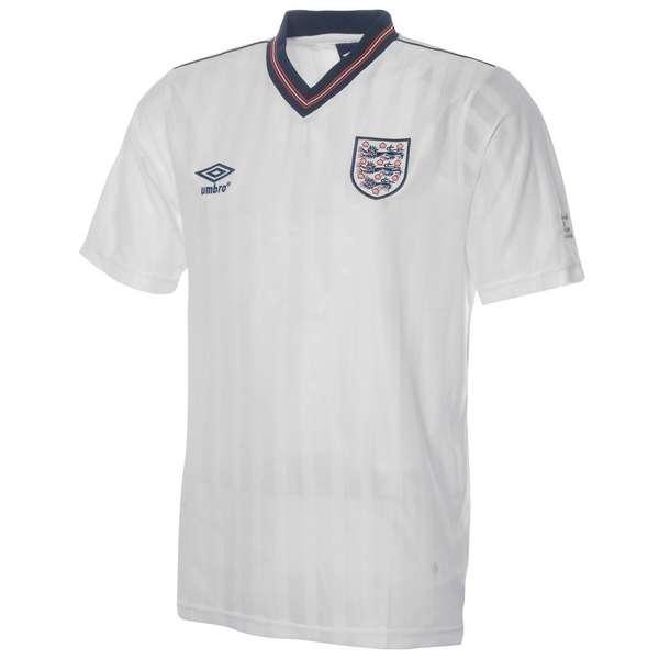 bf375afd9ba Umbro England Home Retro Shirt 1986