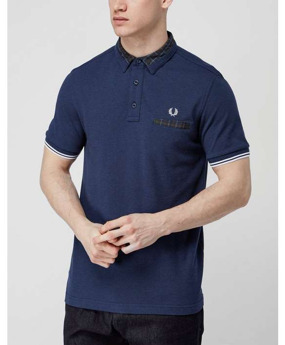 Fred Perry Collar Detail Polo Shirt - Exclusive