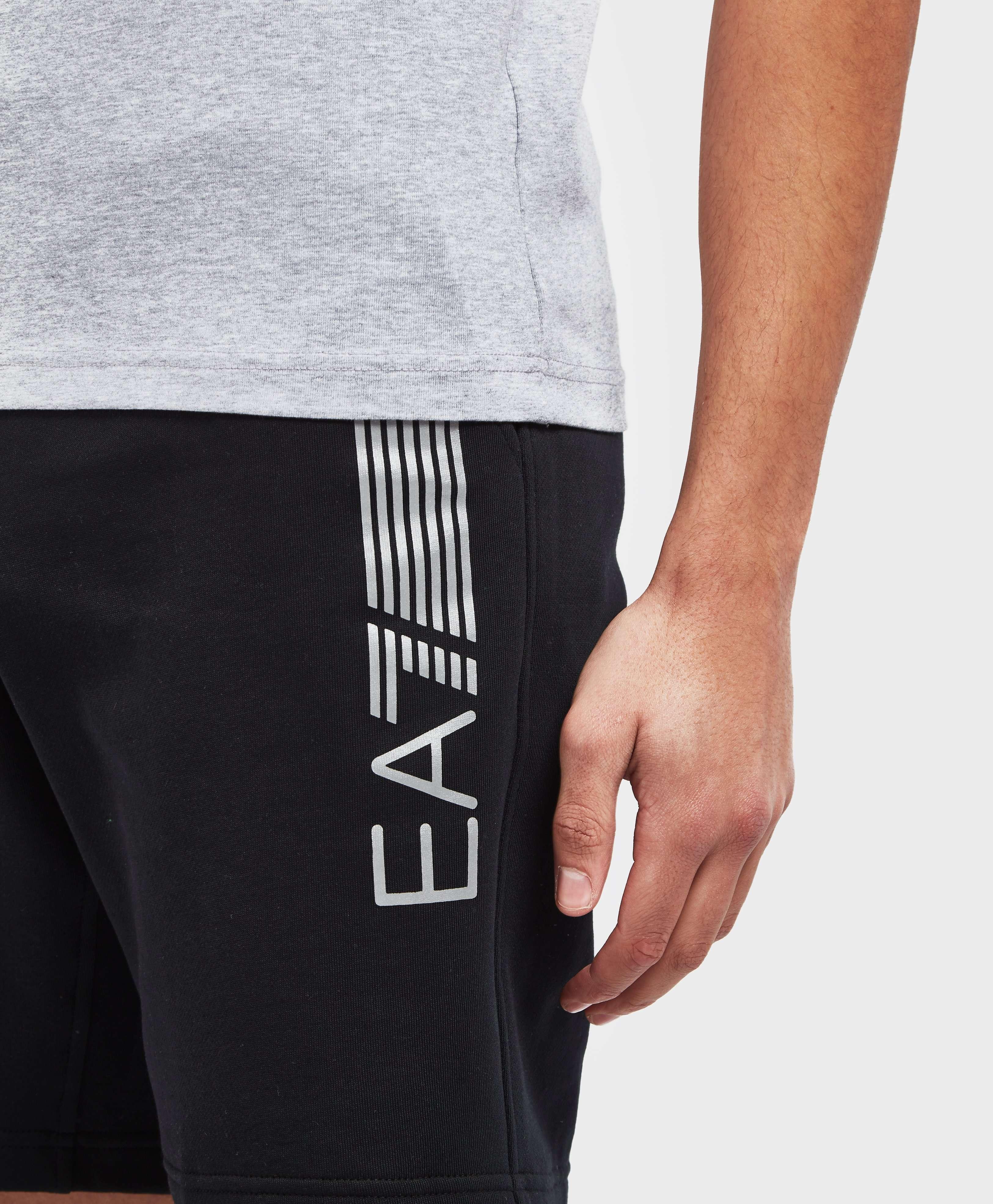 Emporio Armani EA7 7 Lines Fleece Shorts - Exclusive
