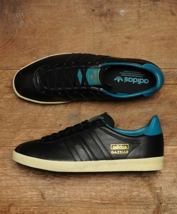 premium selection 7159b e20c1 adidas Originals Gazelle OG Leather  scotts Menswear