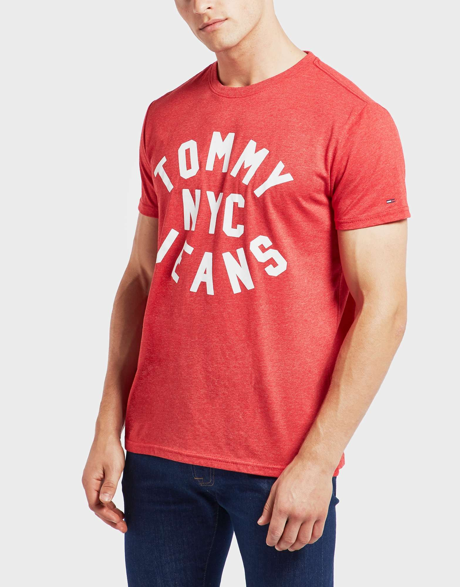Tommy Jeans NYC Logo Short Sleeve T-Shirt