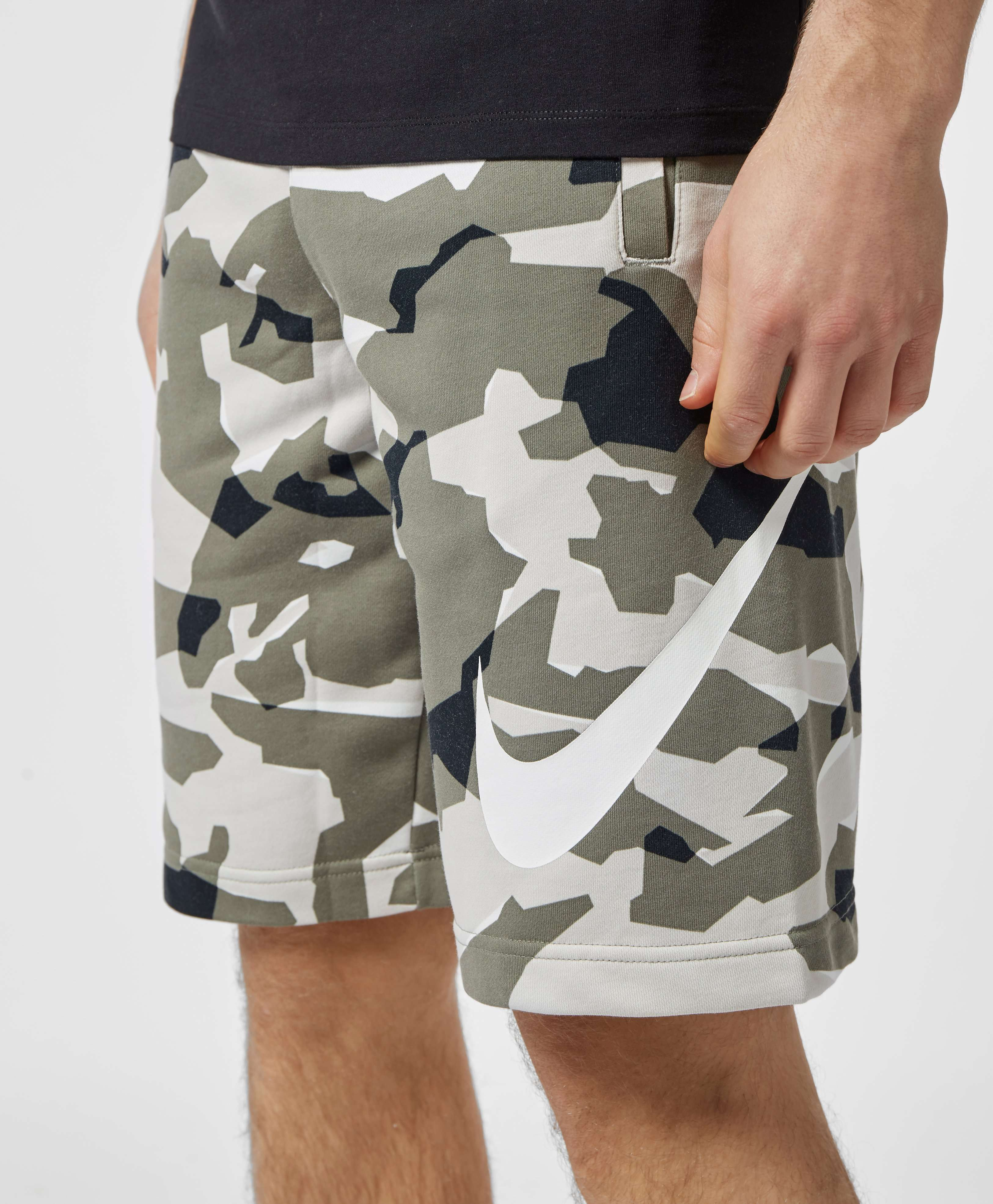 Nike Camo Fleece Shorts