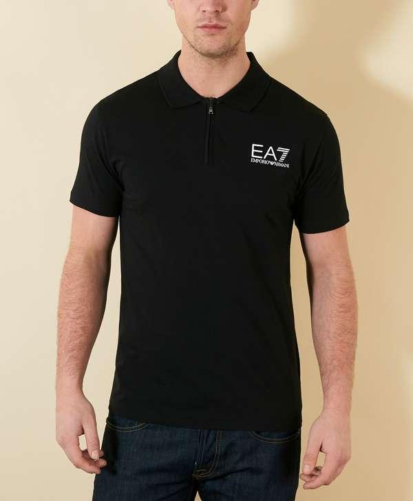 Ea7 Shirt Zip Armani Scotts Menswear Polo Emporio g7n0vzw