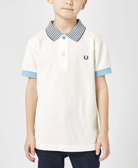 Fred Perry Kids' Stripe Polo Shirt
