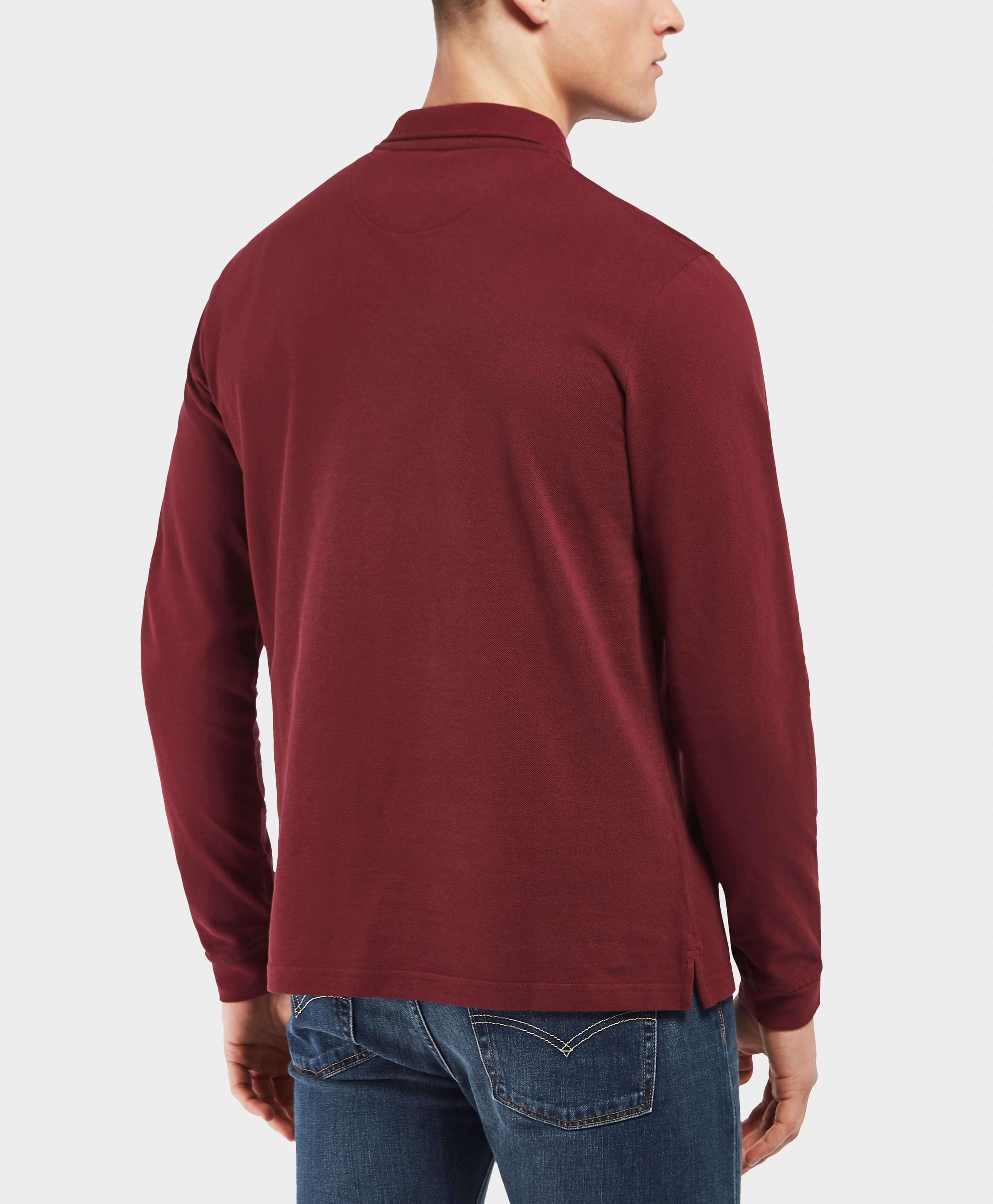 Lyle & Scott Basic Long Sleeve Polo Shirt
