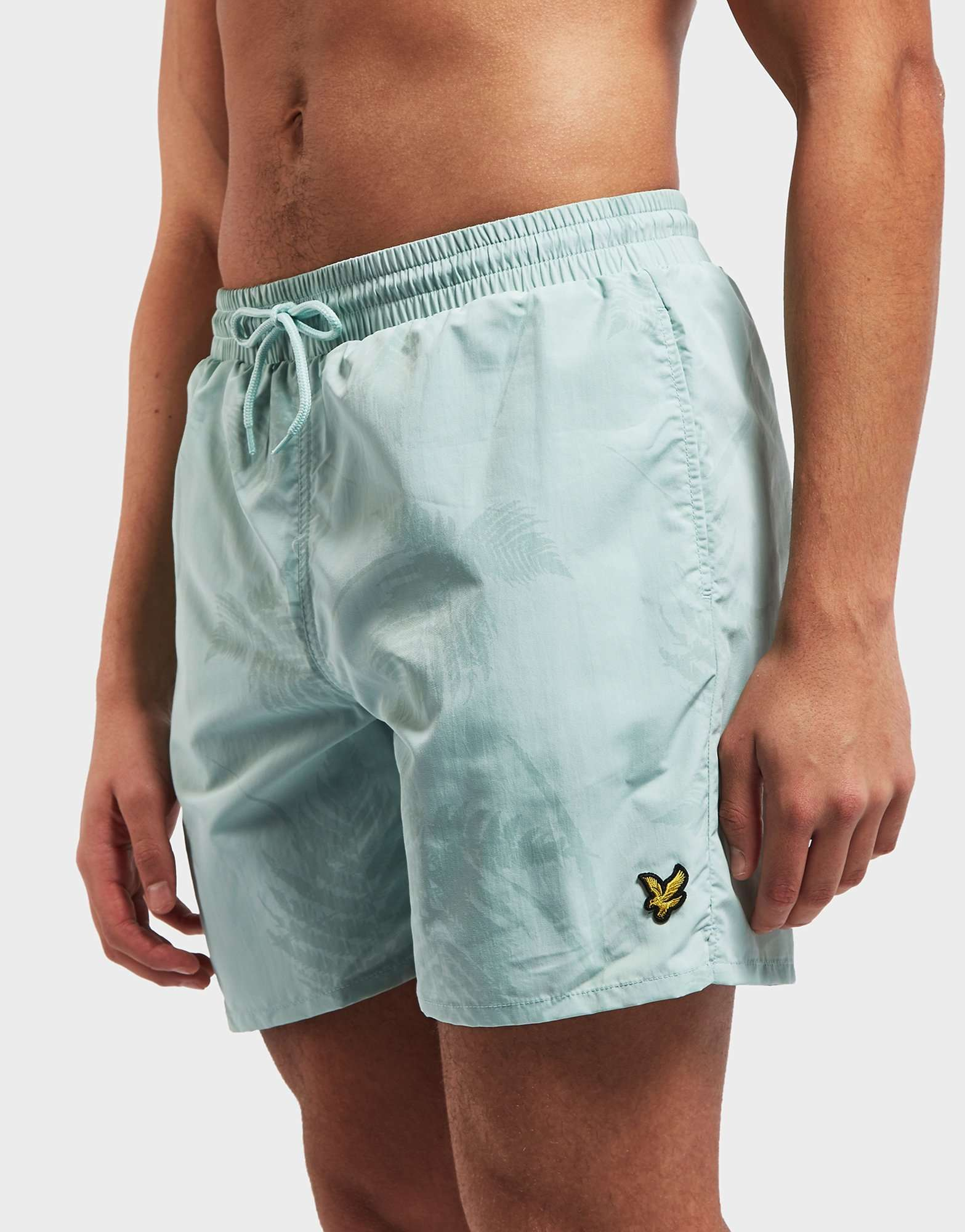 Lyle & Scott Fern Print Swim Shorts