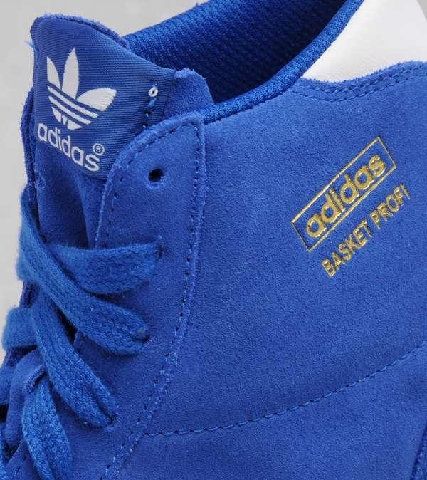new style 02c16 ebd9a adidas Originals Classic Basket Profi Hi OG