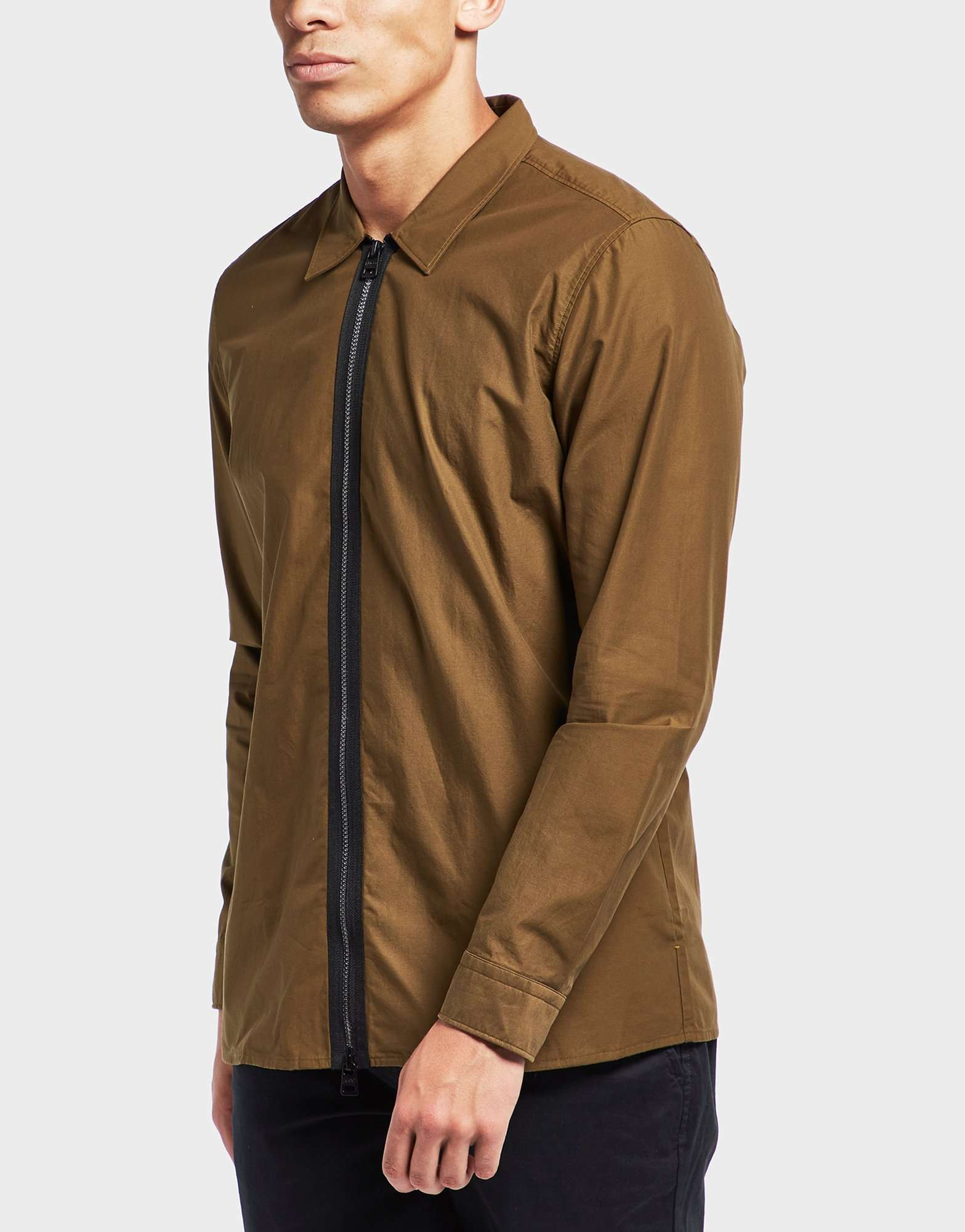 HUGO Euston Full Zip Overshirt