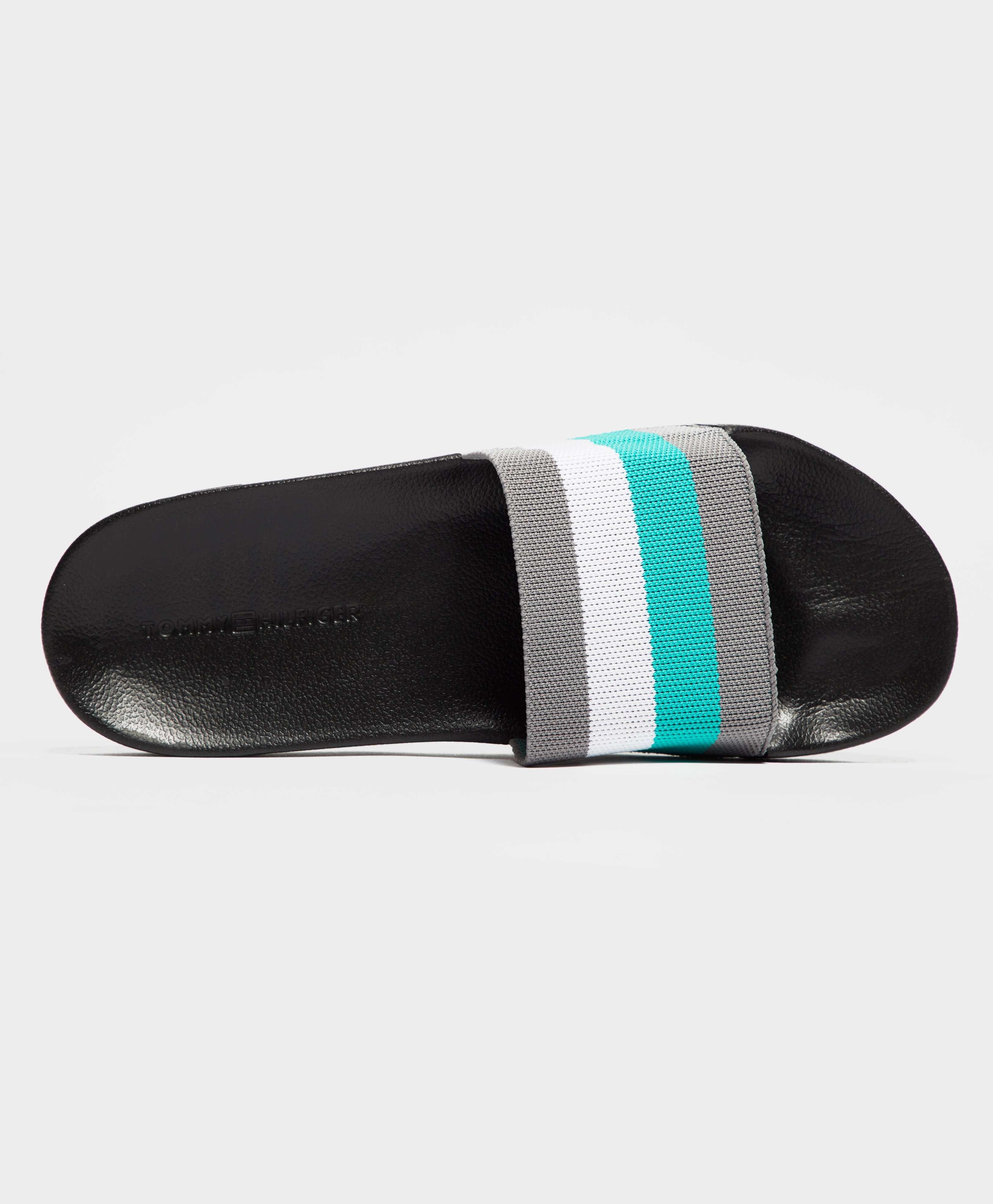 Tommy Hilfiger Stripe Pool Slides