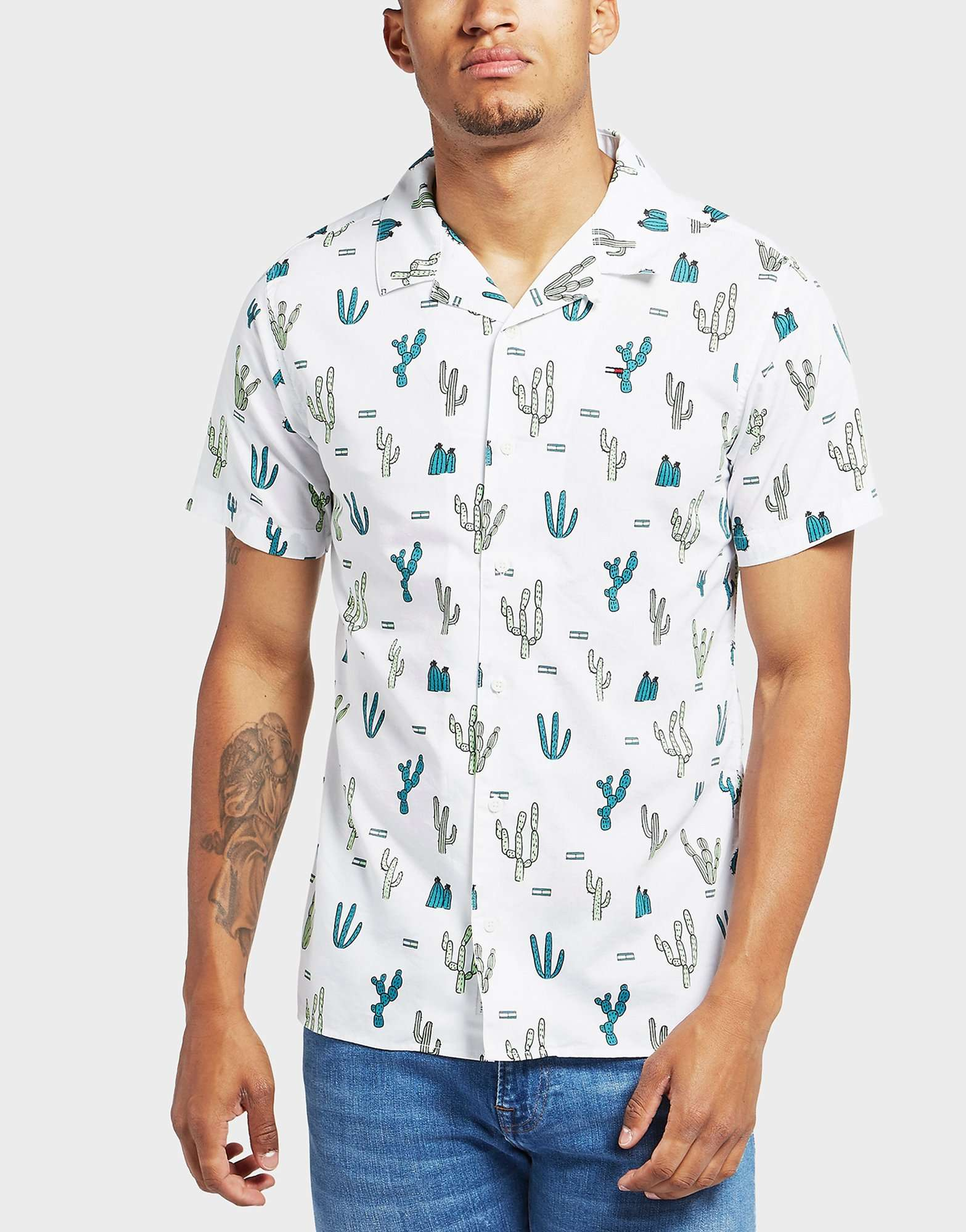 Tommy Jeans Cactus Short Sleeve Shirt - Online Exclusive