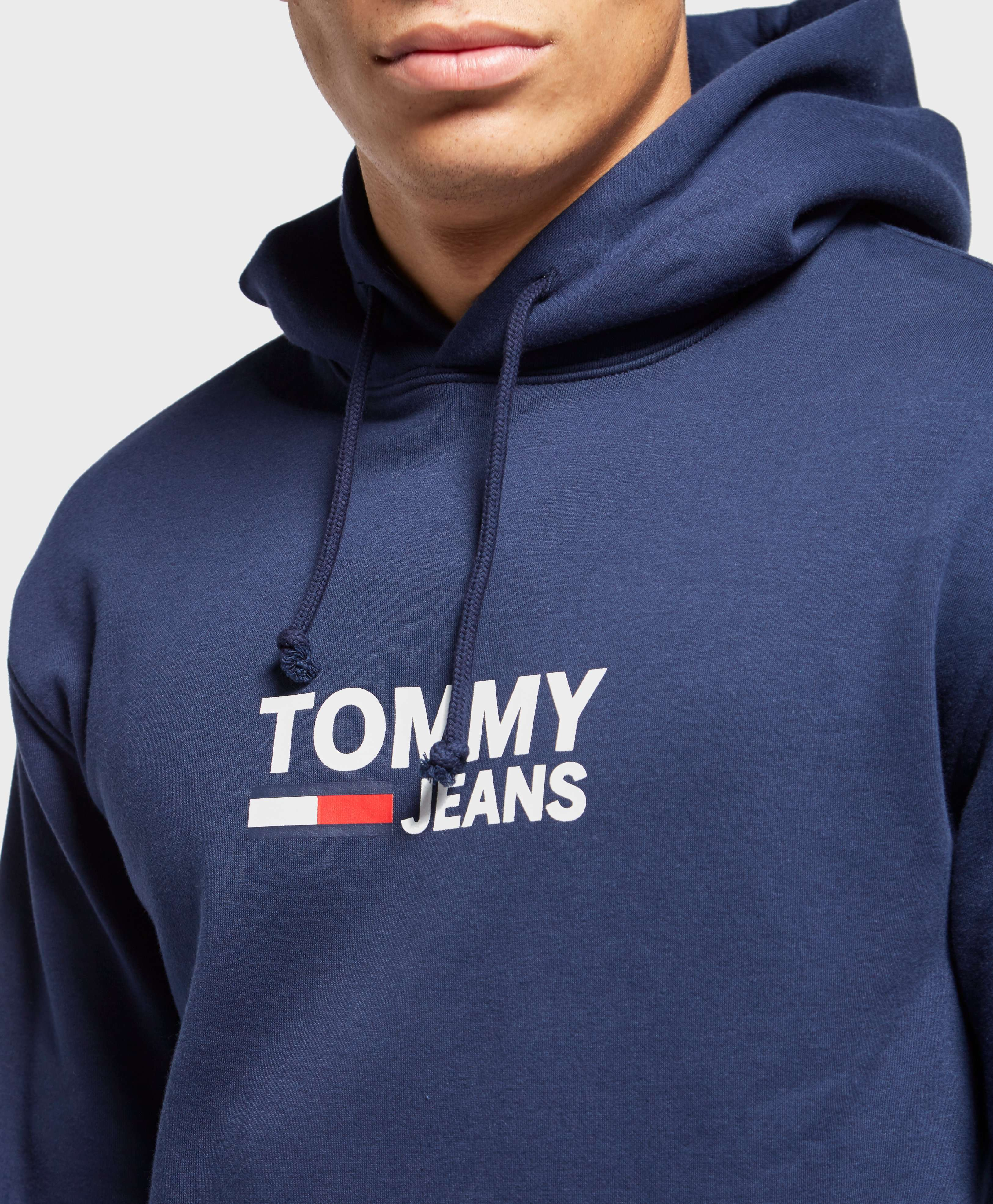 Tommy Jeans Corporate Logo Overhead Hoodie