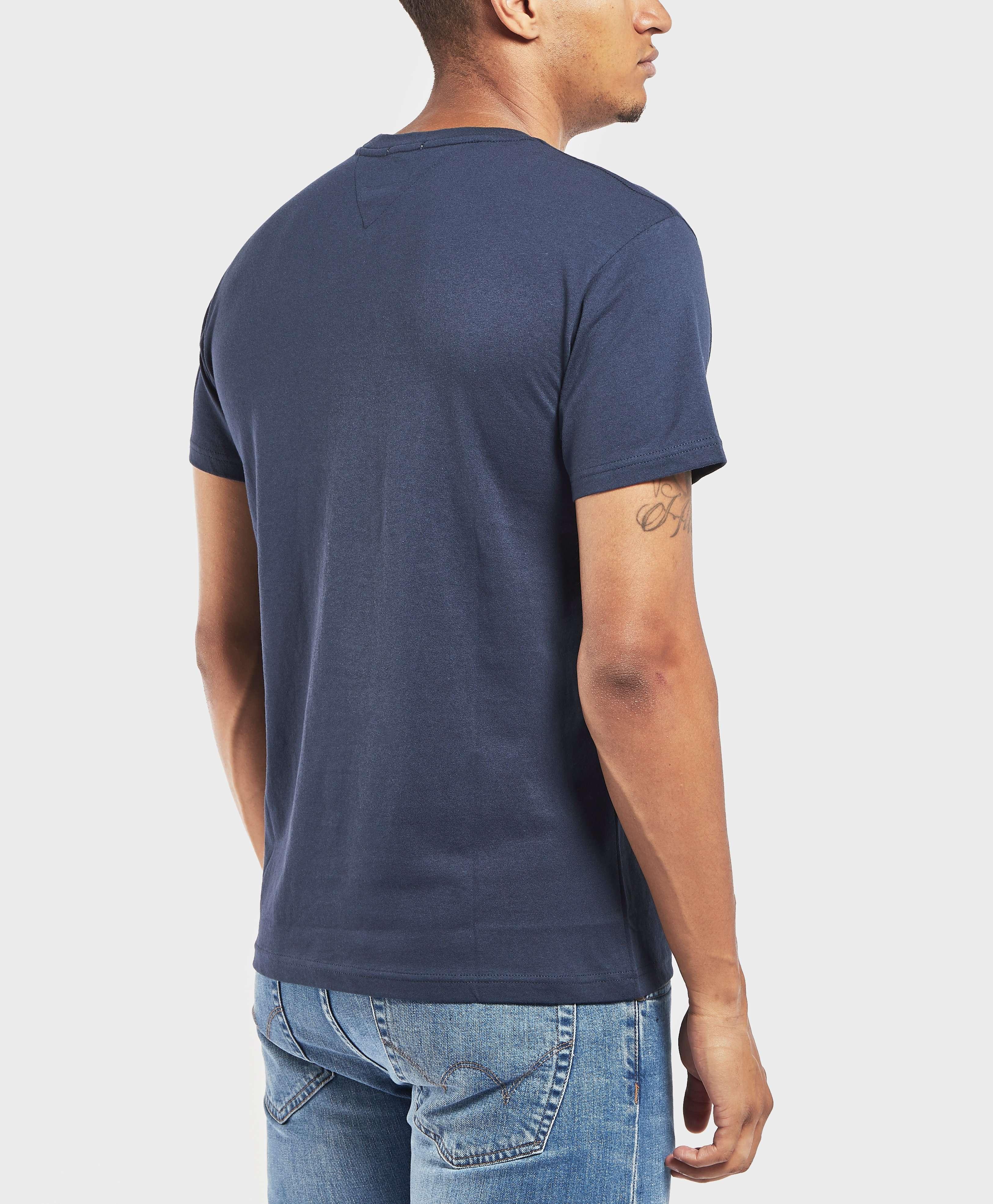 Tommy Jeans Split Box Logo Short Sleeve T-Shirt