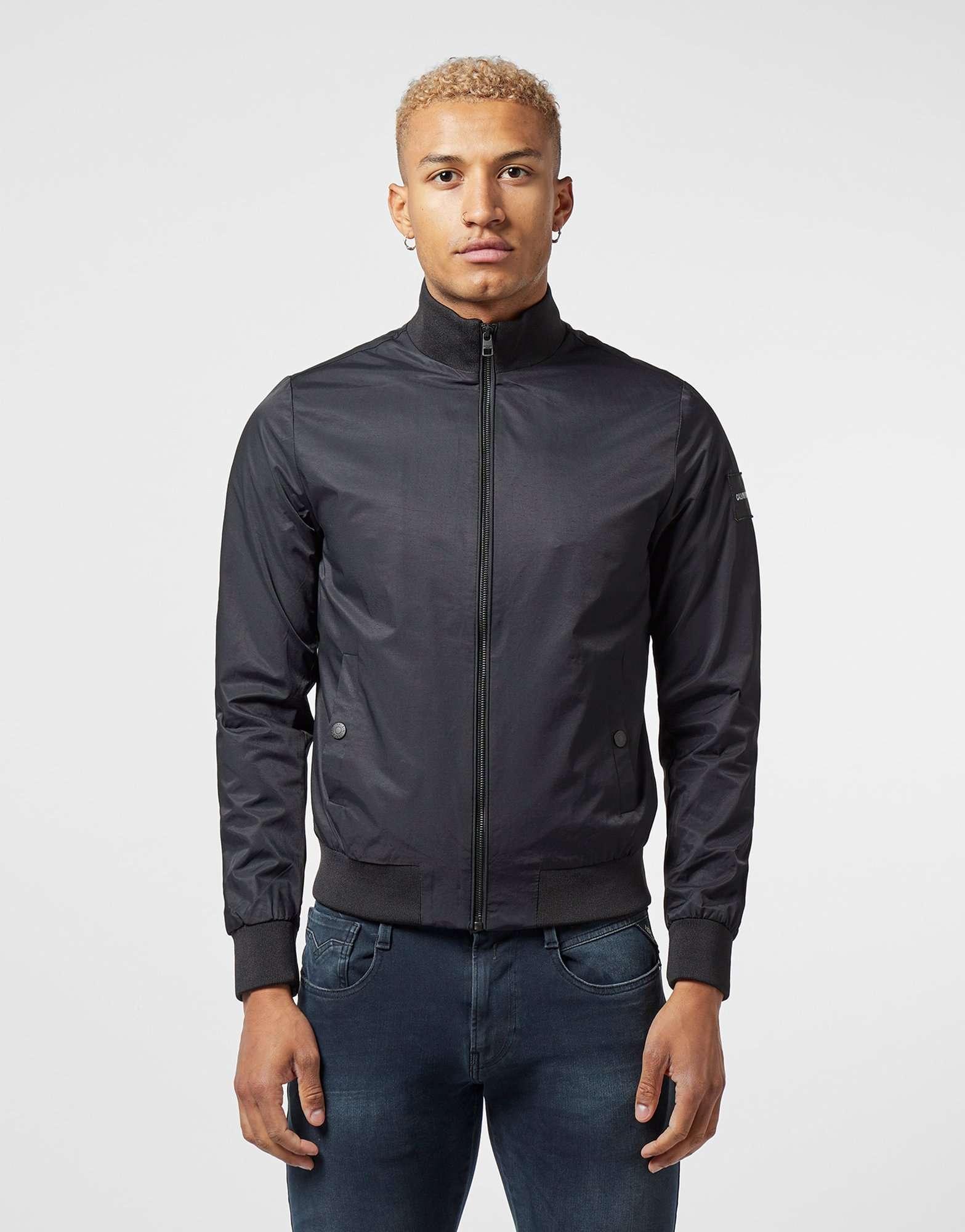 Calvin Klein Zip Through Bomber Jacket