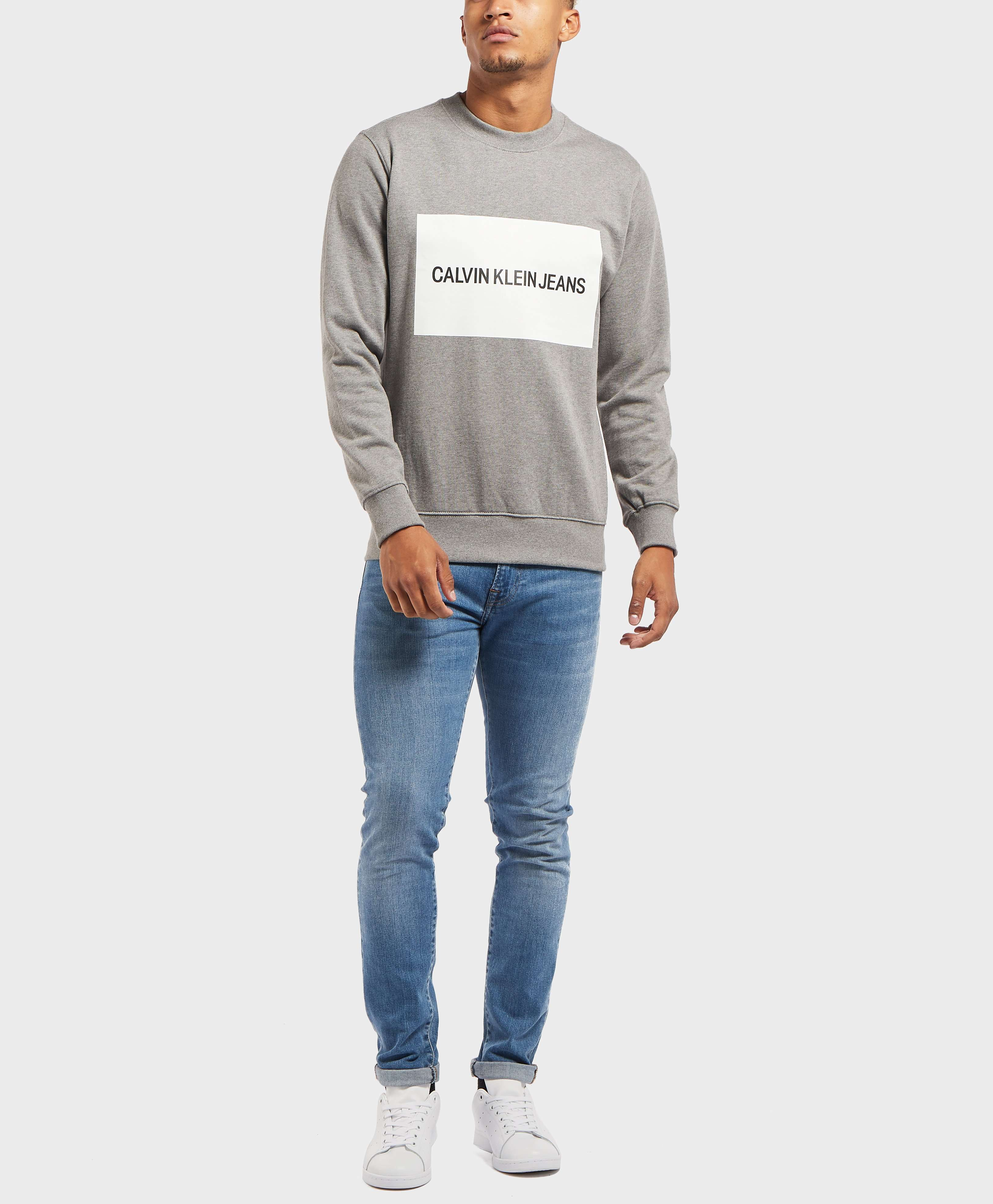 Calvin Klein Large Box Crew Sweatshirt