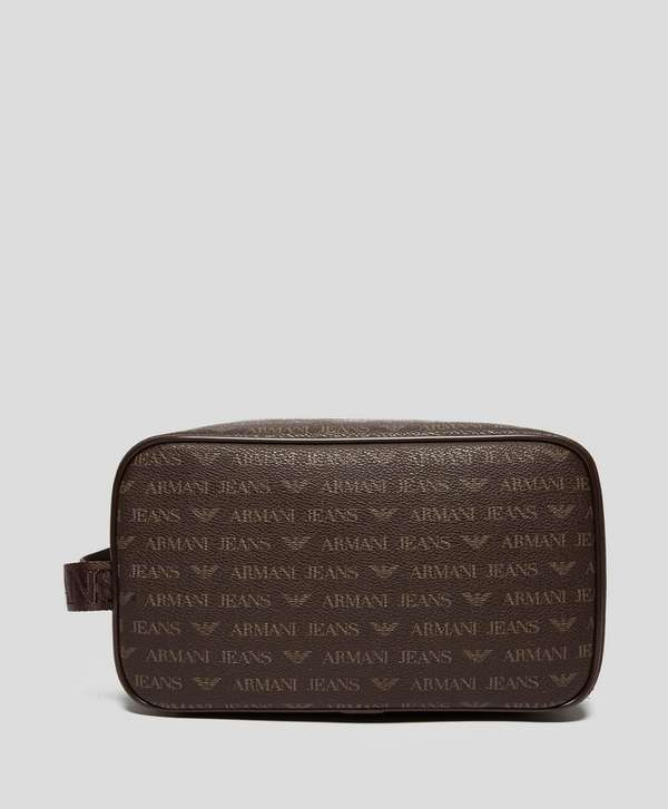 24d551242213 Armani Jeans All Over Wash Bag ...