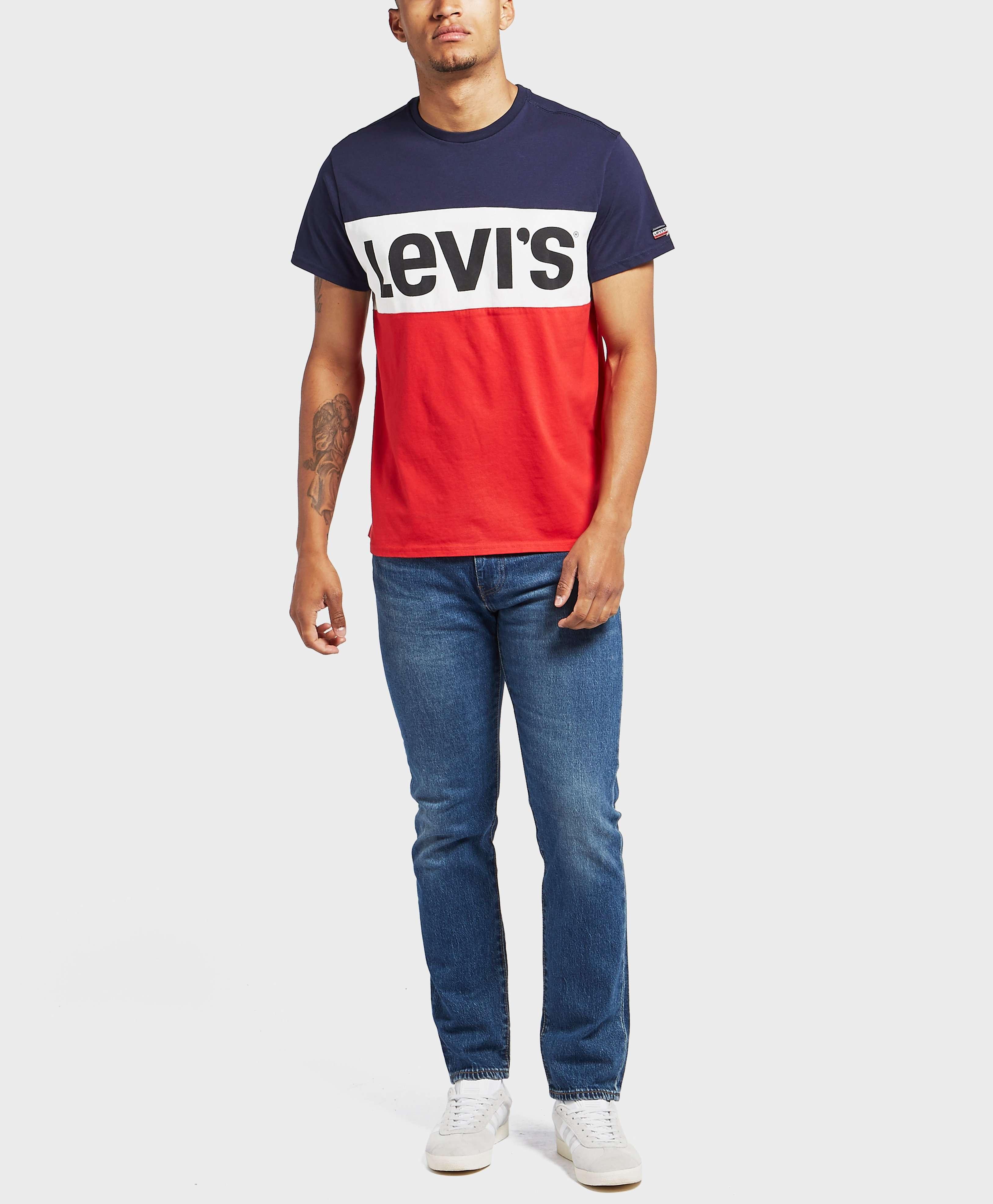 Levis Colour Block Short Sleeve T-Shirt