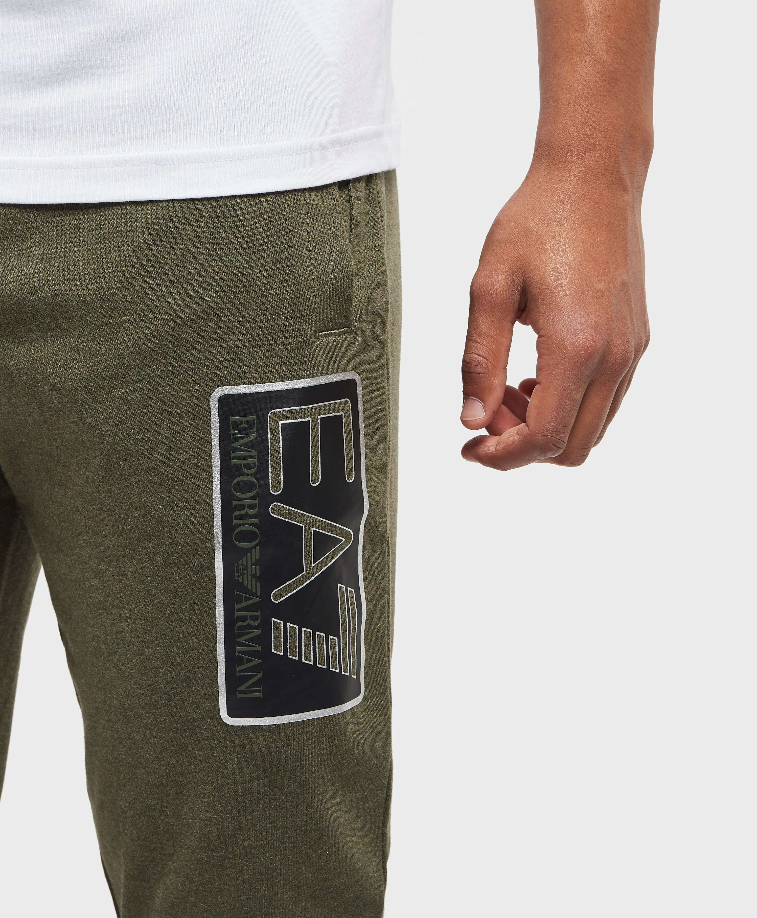 Emporio Armani EA7 Visibility Logo Cuffed Fleece Pants