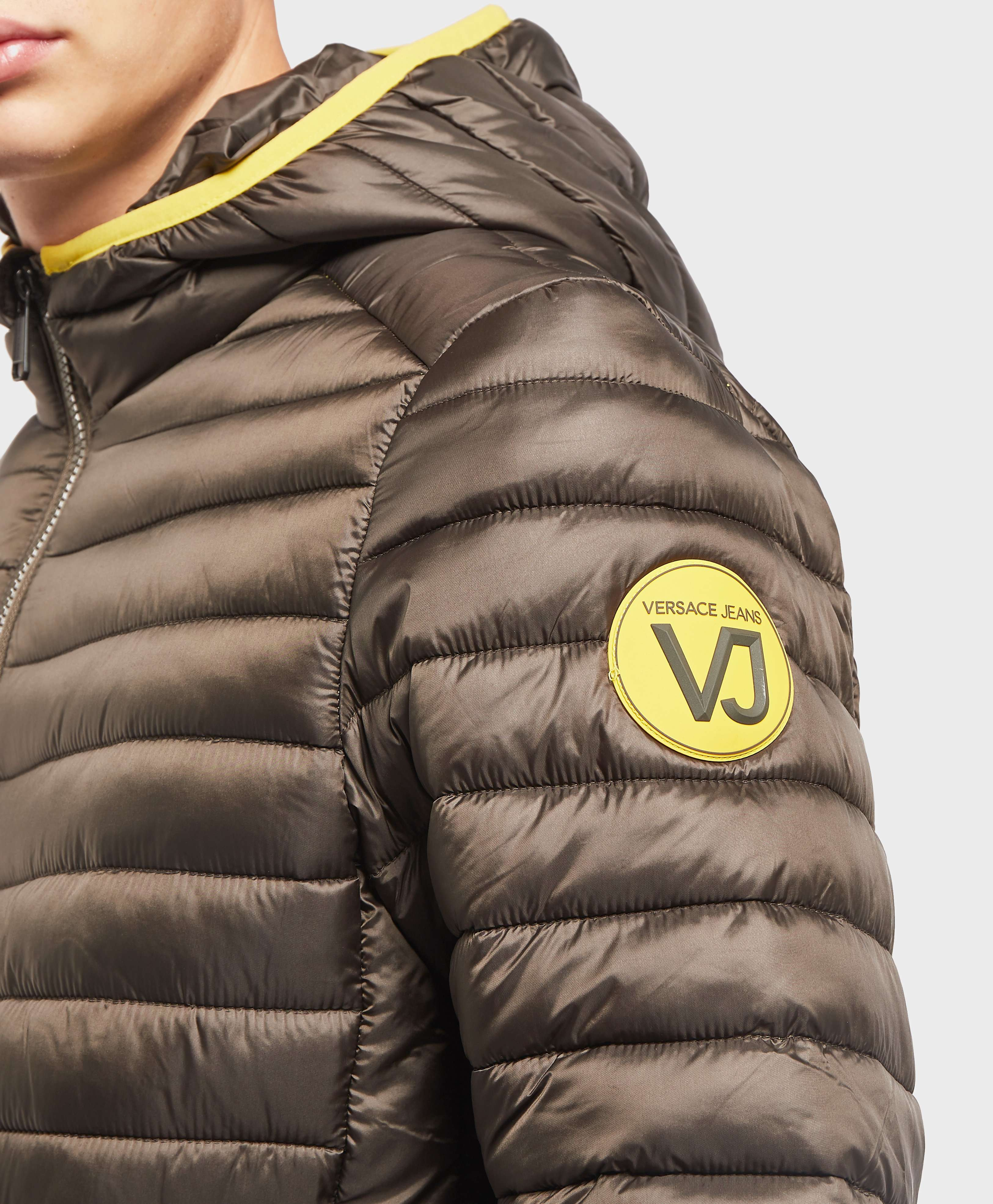 Versace Jeans Hooded Padded Jacket