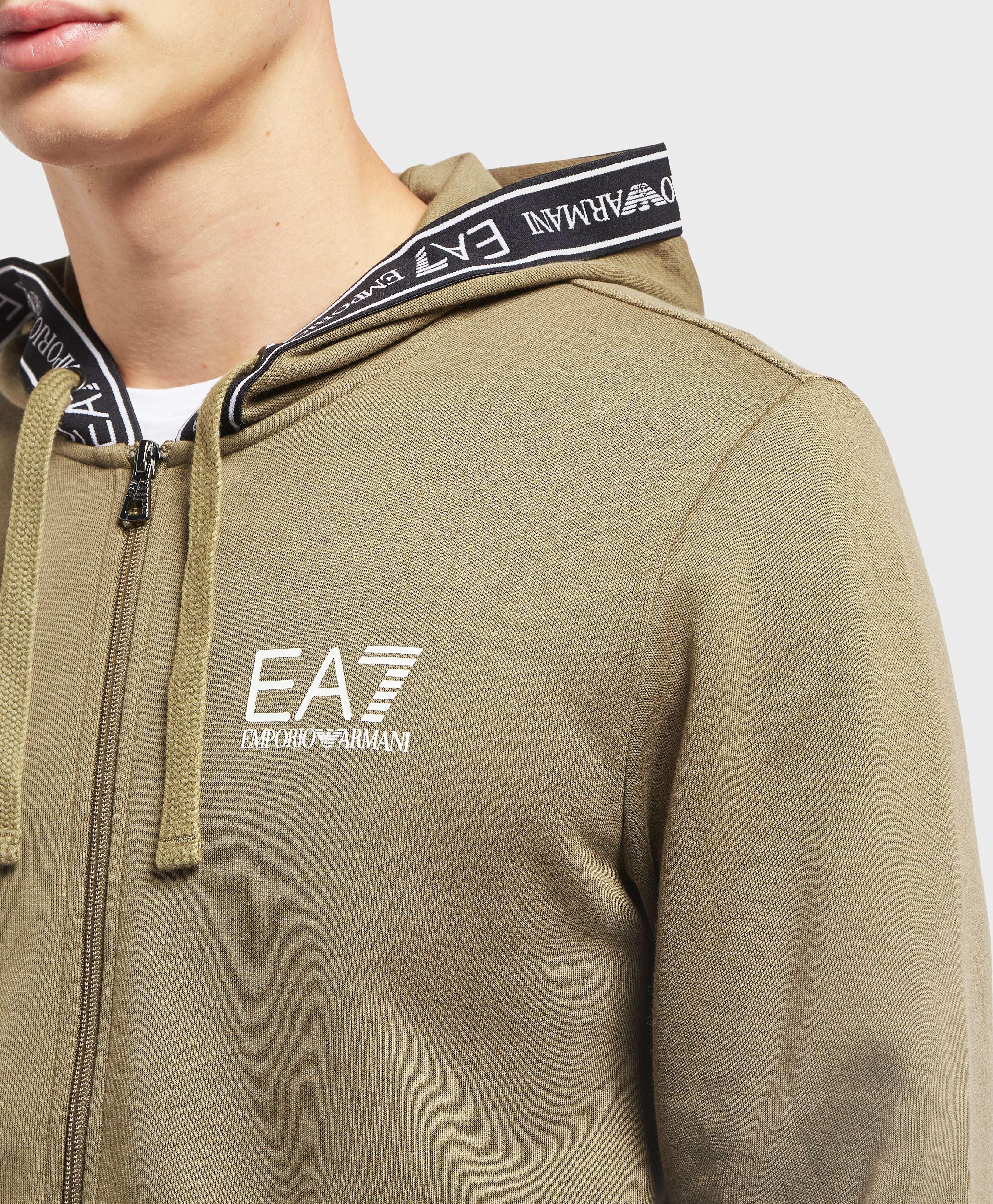 Emporio Armani EA7 Tape Full Zip Hoodie