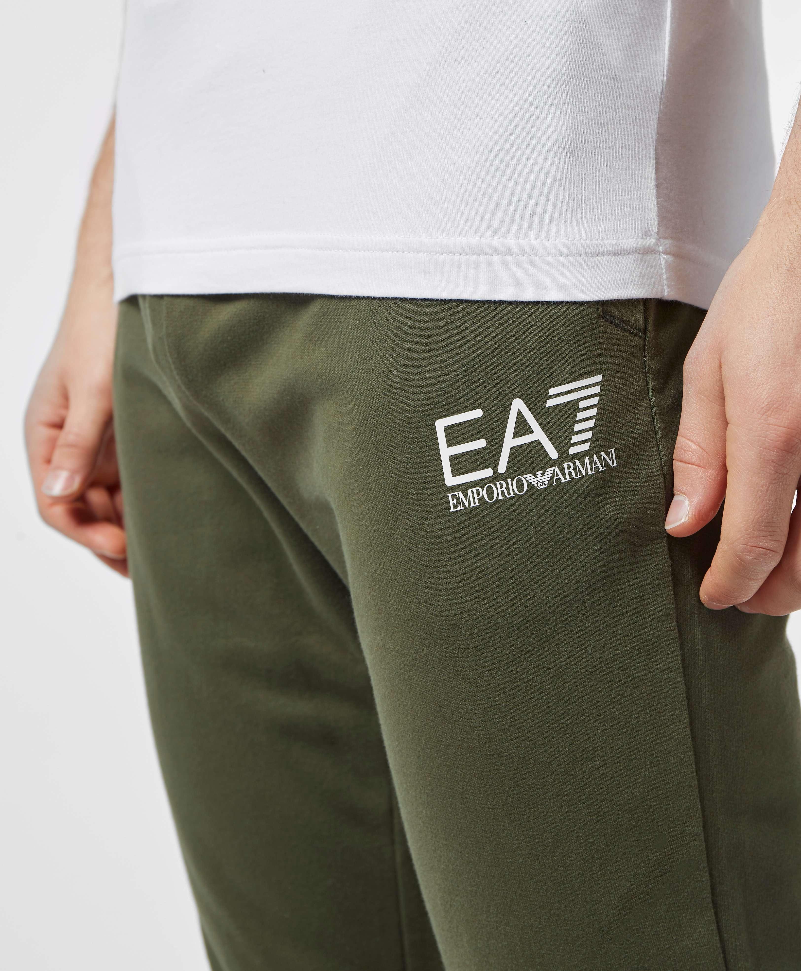 Emporio Armani EA7 Eagle Cuffed Fleece Pants - Exclusive