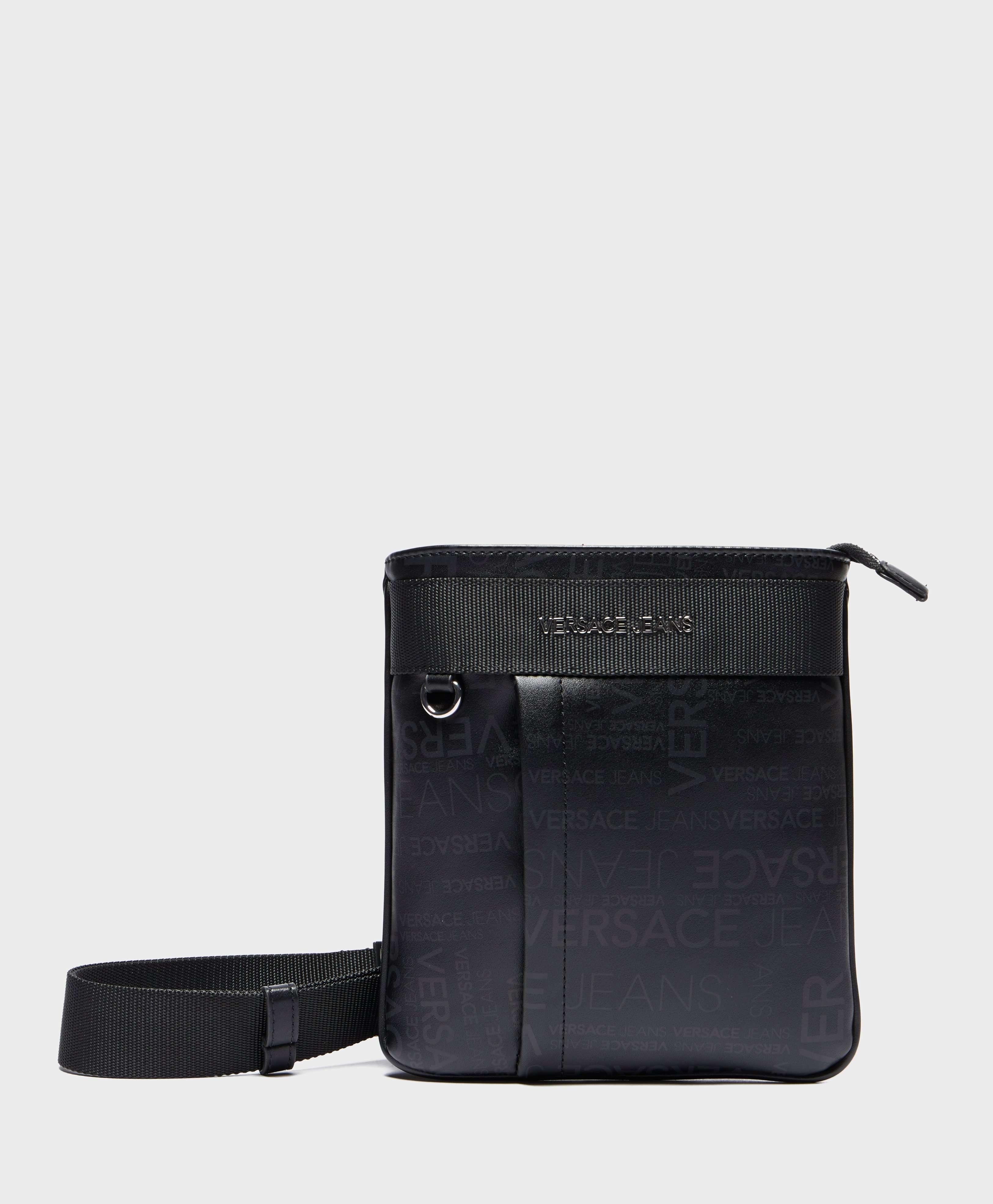 Versace Jeans Print Logo Small Item Bag