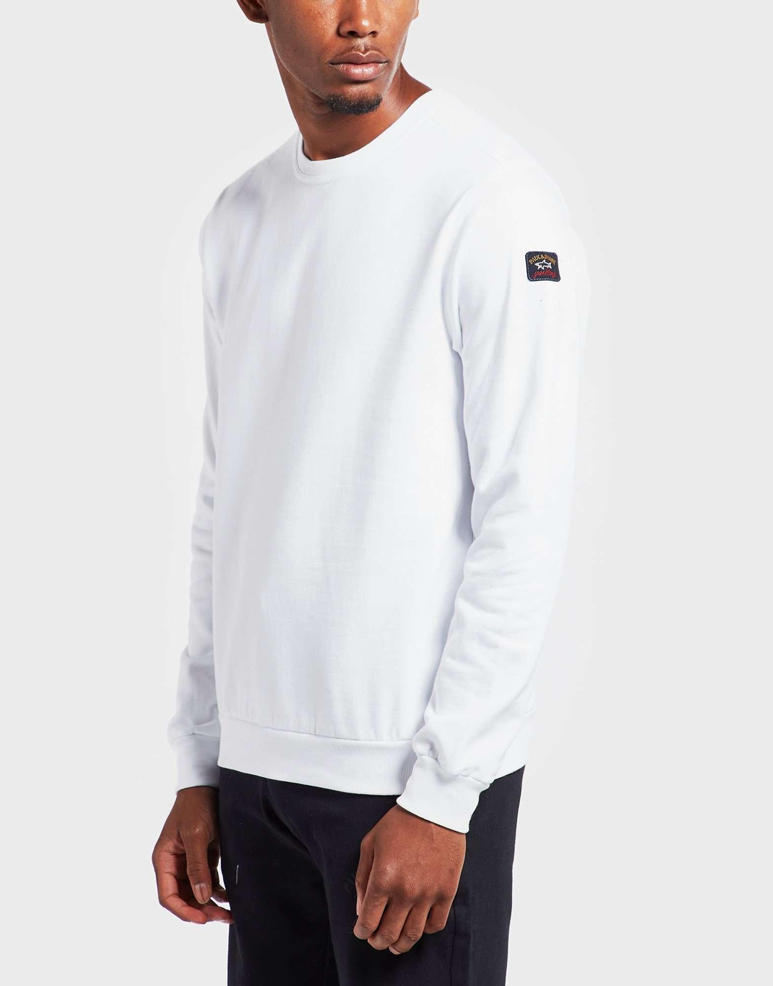 Paul and Shark Fleece Crew Sweatshirt