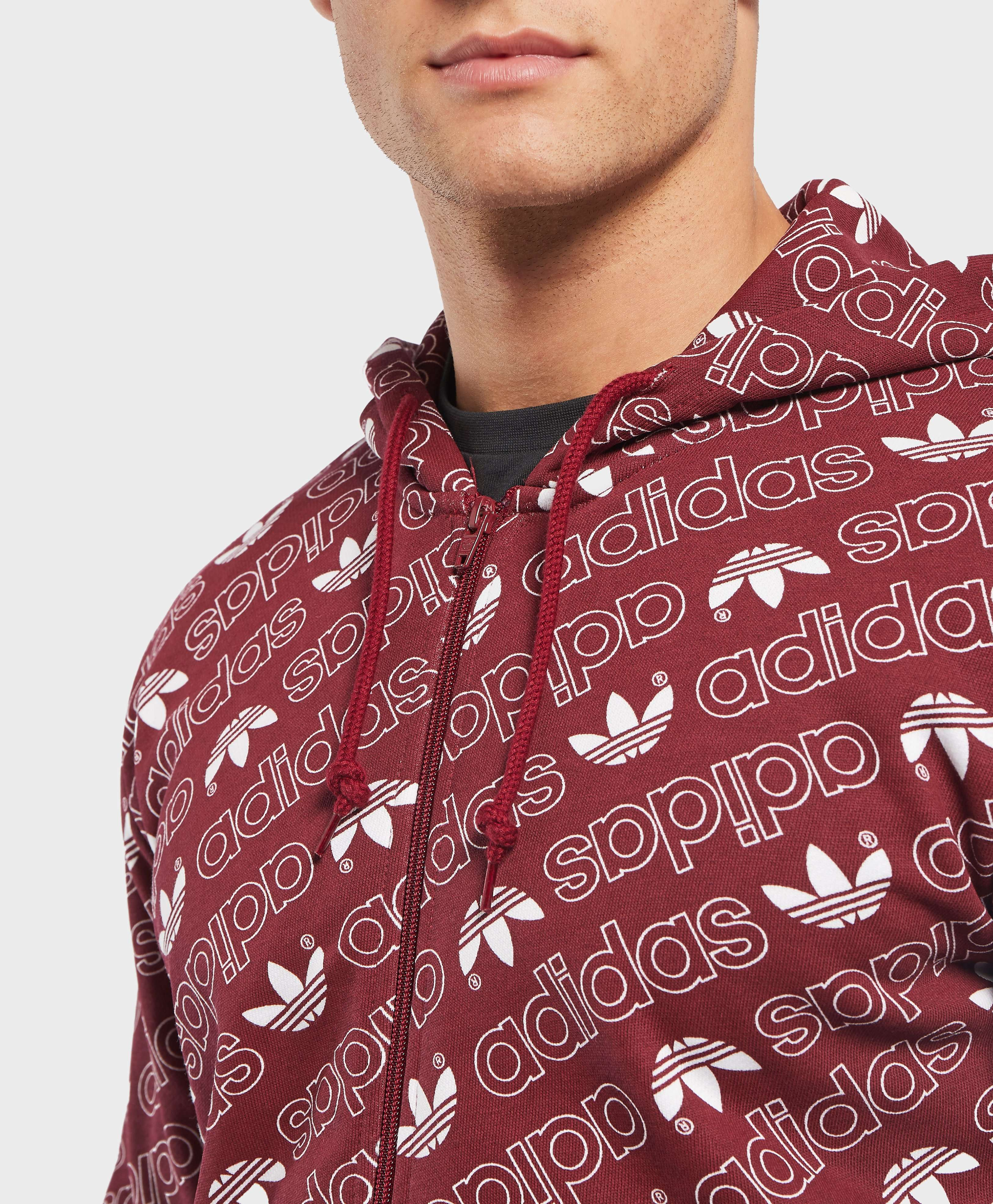 adidas Originals Monogram Full Zip Hoodie