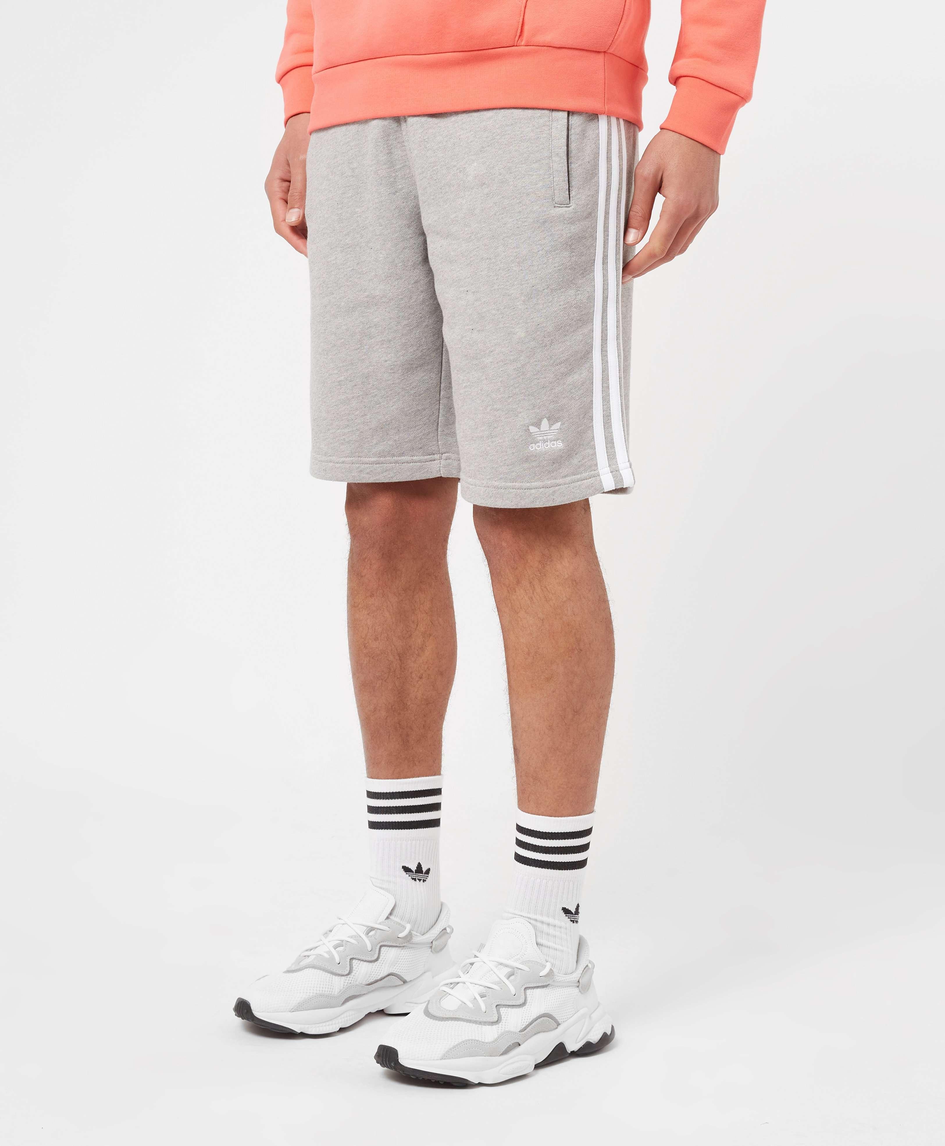 adidas Originals 3-Stripes Fleece Shorts