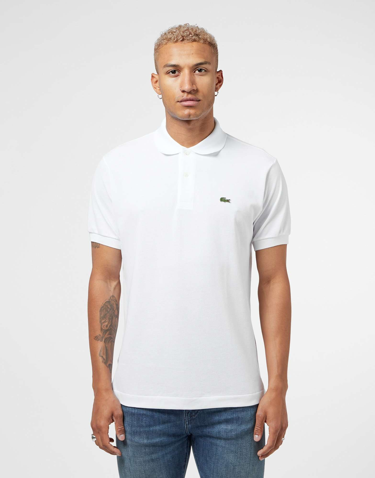 Lacoste l1212 short sleeve polo shirt scotts menswear for Lacoste poloshirt weiay